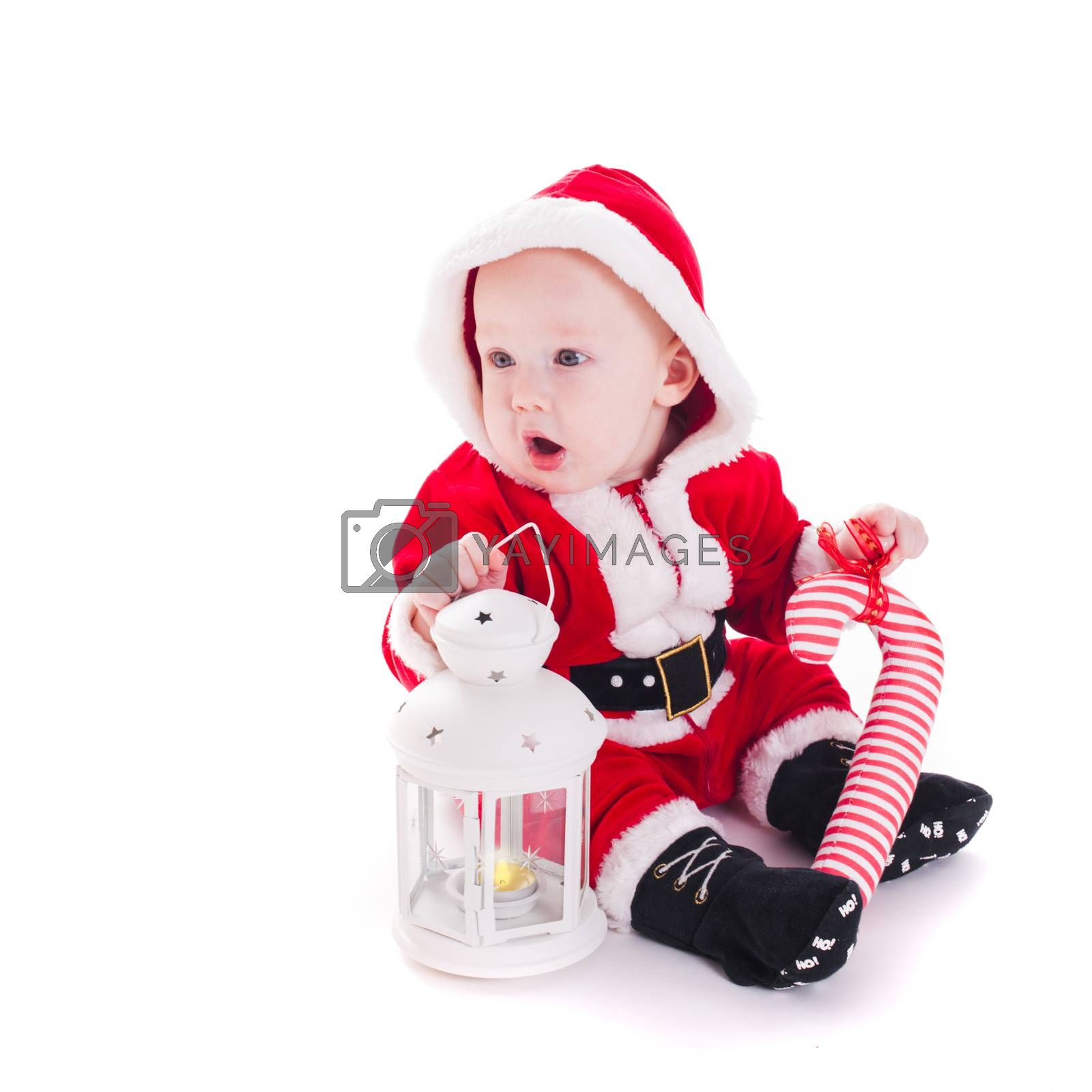Santa boy by oksix