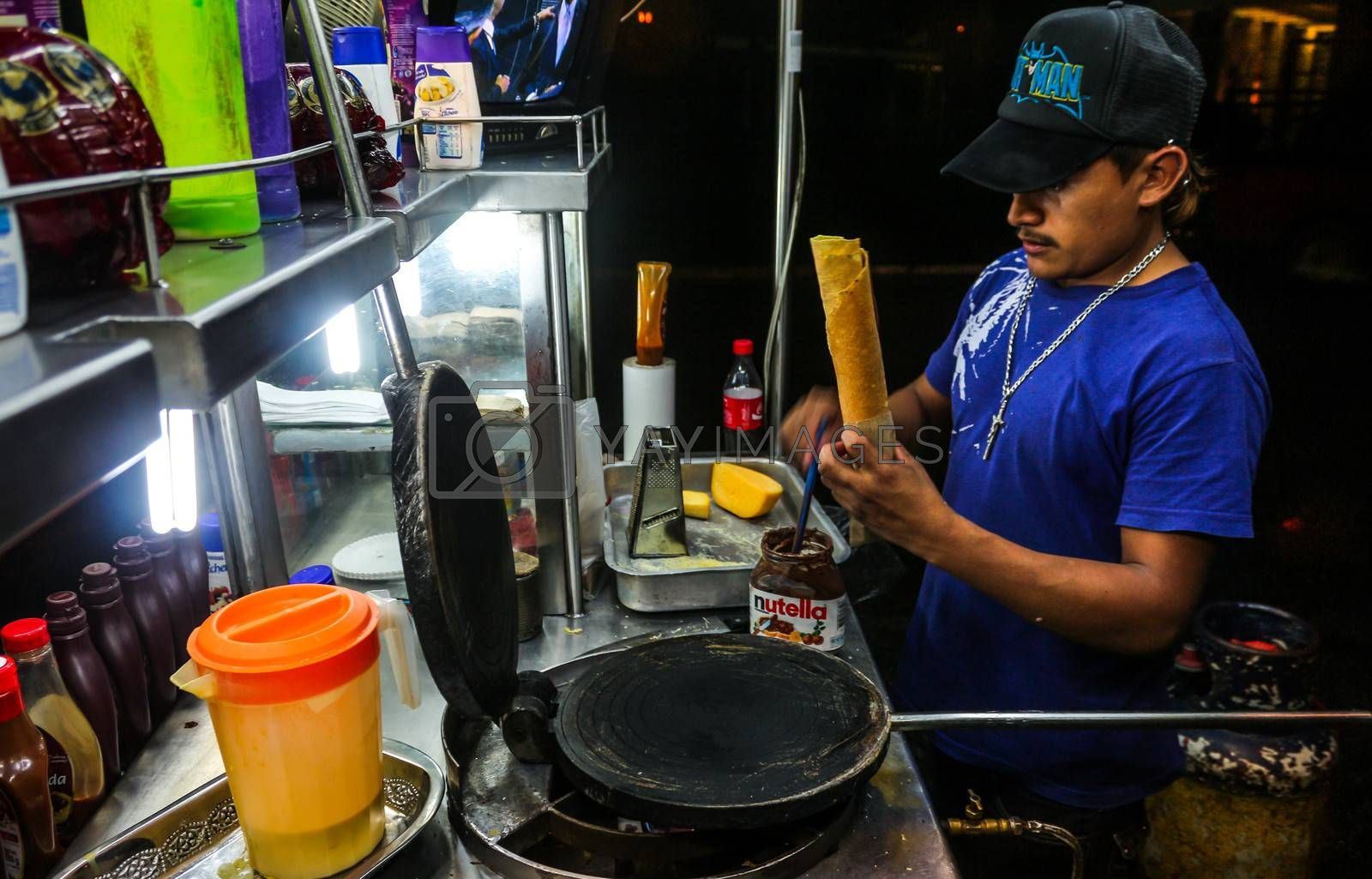 The making of Crispy Yucatecan Marquesitas: street snack designed to satisfy a craving