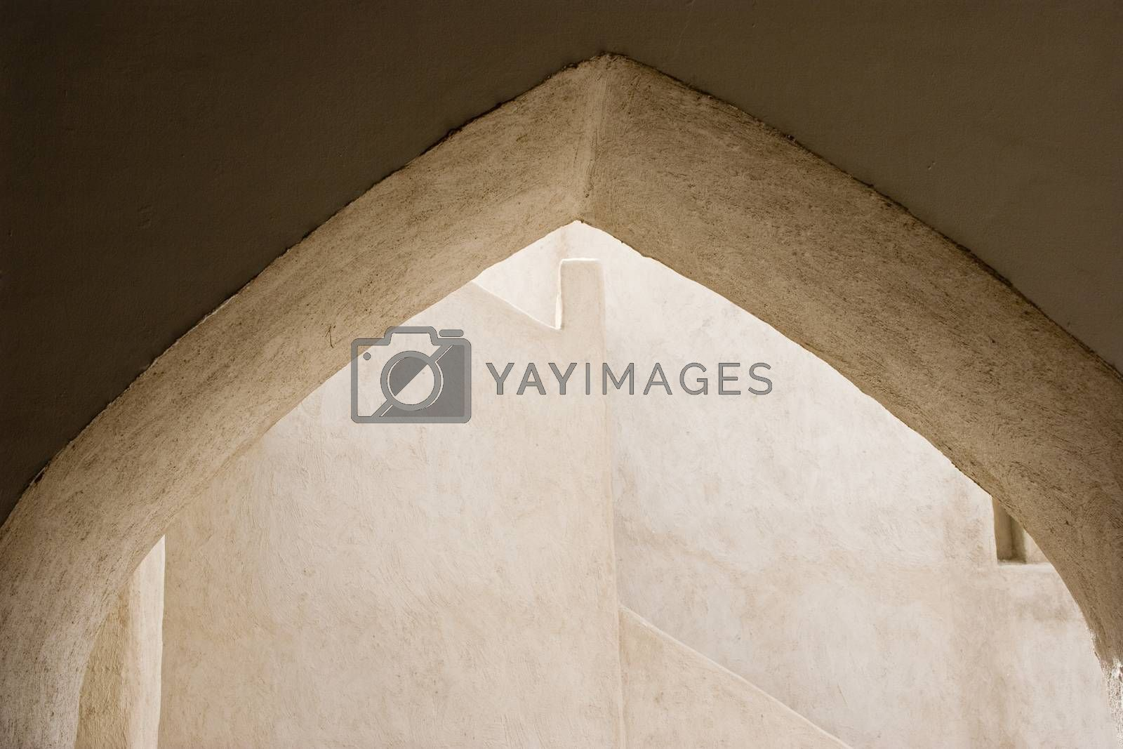 Dubai UAE Architectural detail of Sheikh Saeed al-Maktoum House by moodboard