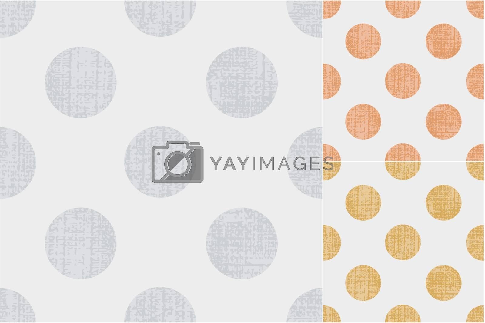 seamless polka dots texture pattern