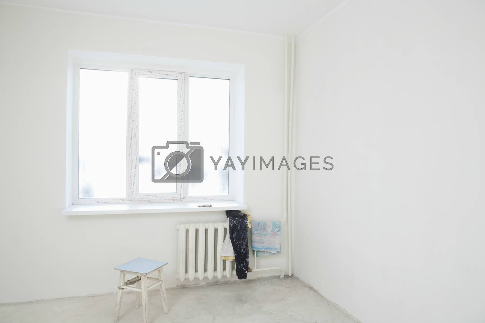 Dirty Clothes On Radiator Under Window Of New Apartment Royalty Free Stock Image Stock Photos Royalty Free Images Vectors Footage Yayimages