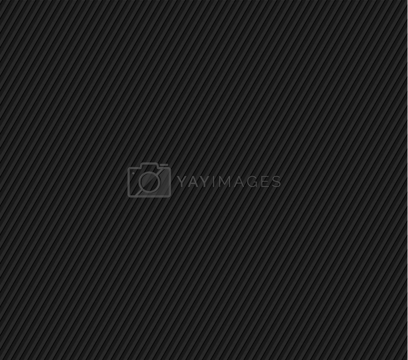 Black seamless striped texture by vipervxw