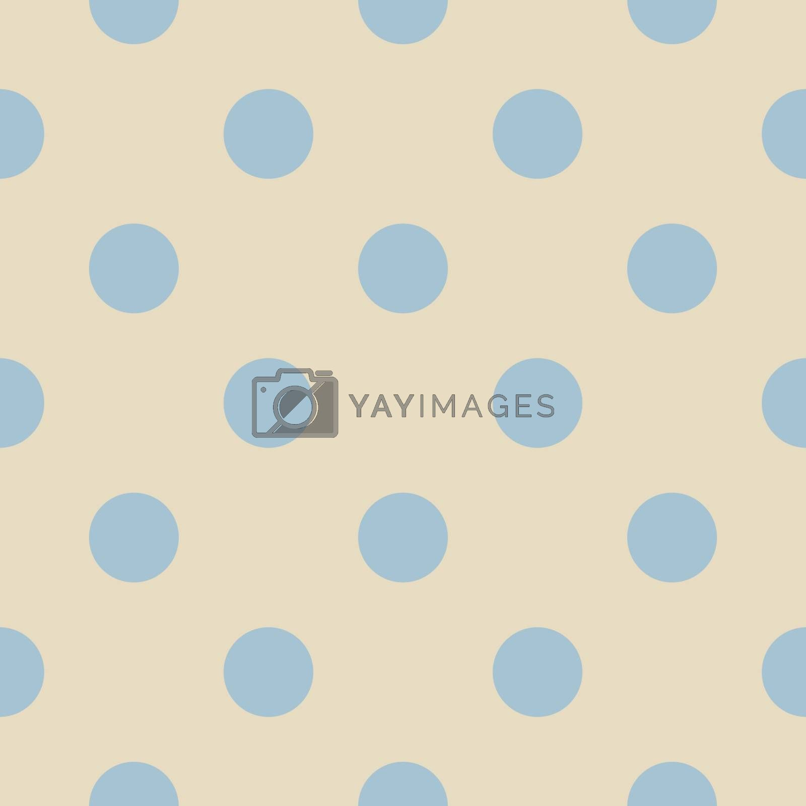 Retro Vector Seamless Pattern Or Texture With Big Pastel Baby Blue Polka Dots On Light Beige Neutral Background Royalty Free Stock Image Stock Photos Royalty Free Images Vectors Footage Yayimages