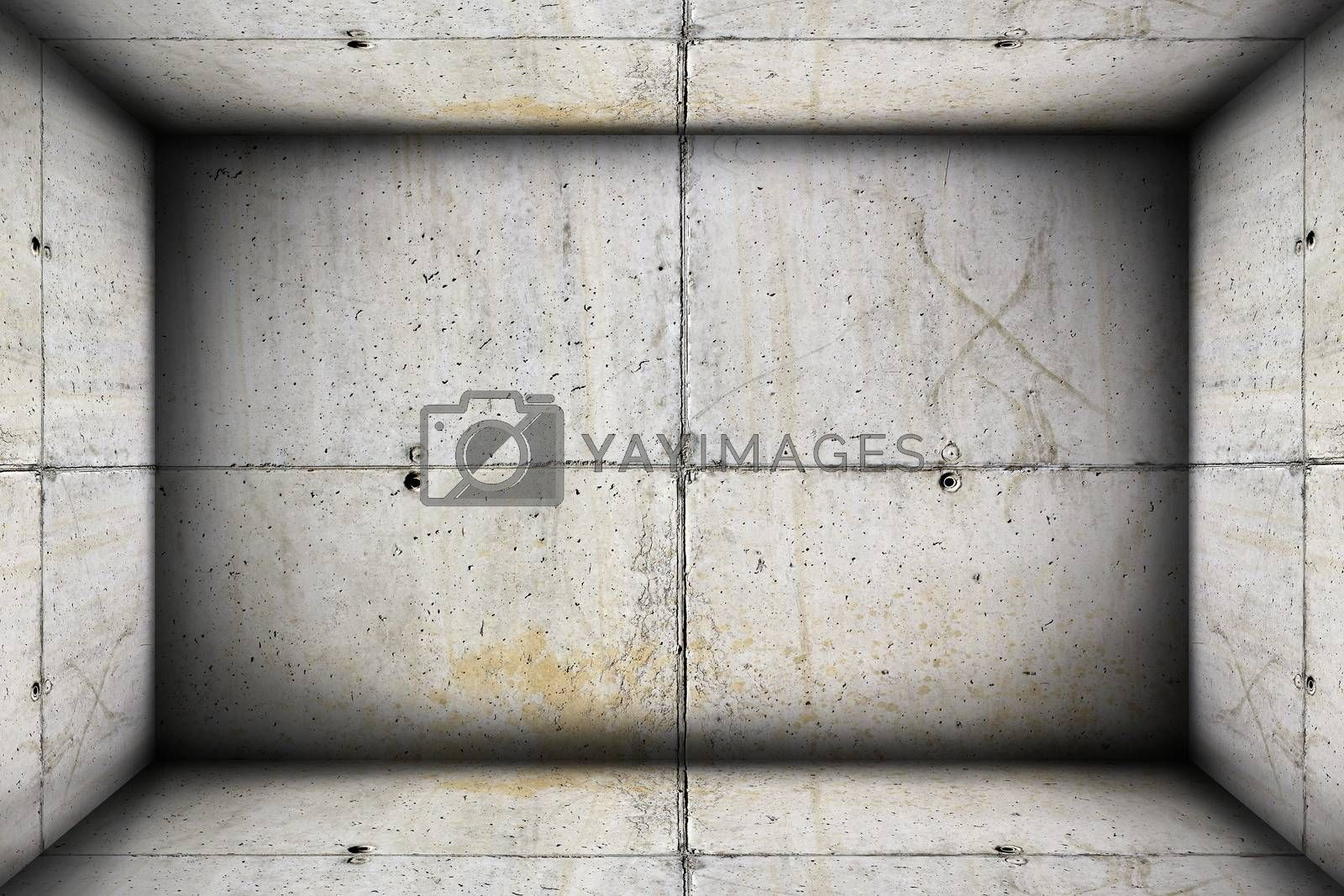 unfinished concrete  industrial interior backdrop for your design