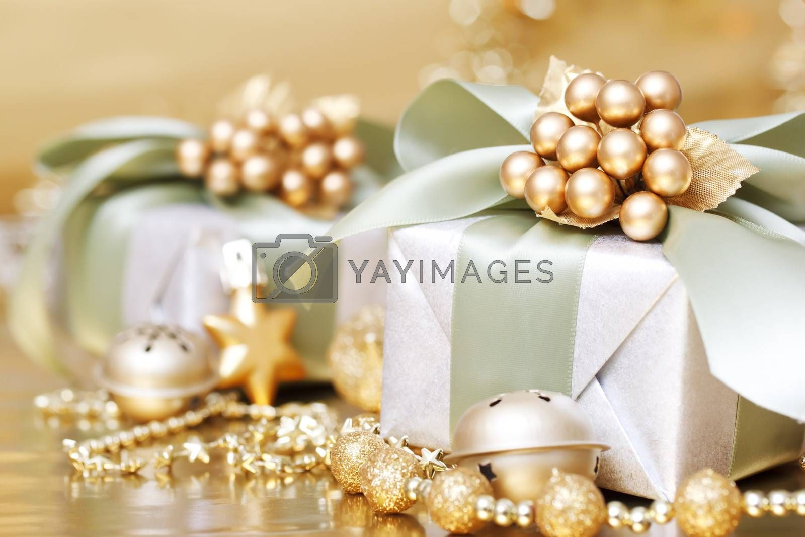 Royalty free image of Christmas Gift Box by melpomene