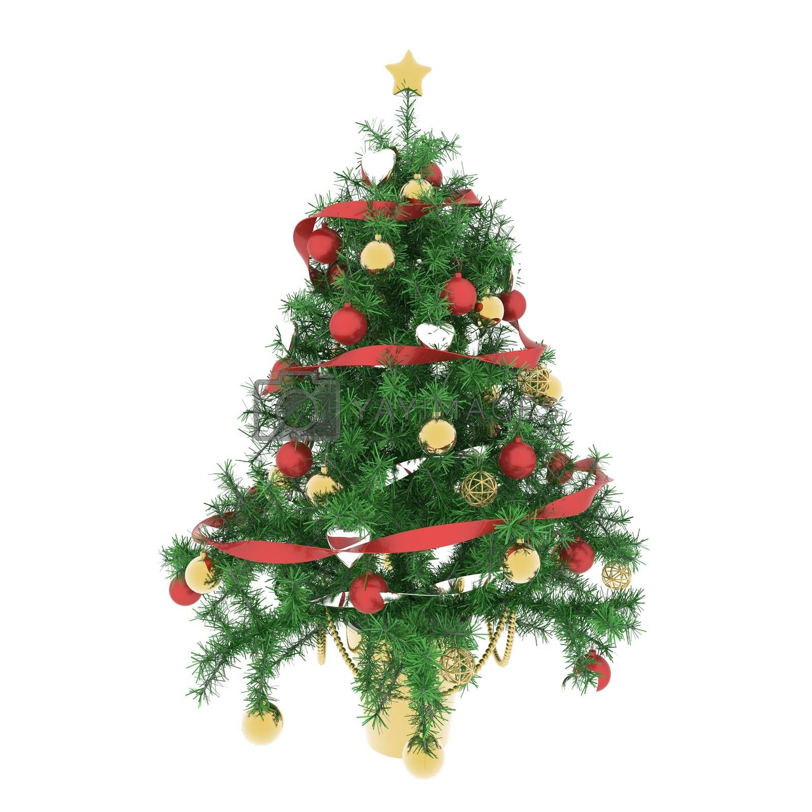 Christmas tree atmosphere by totuss