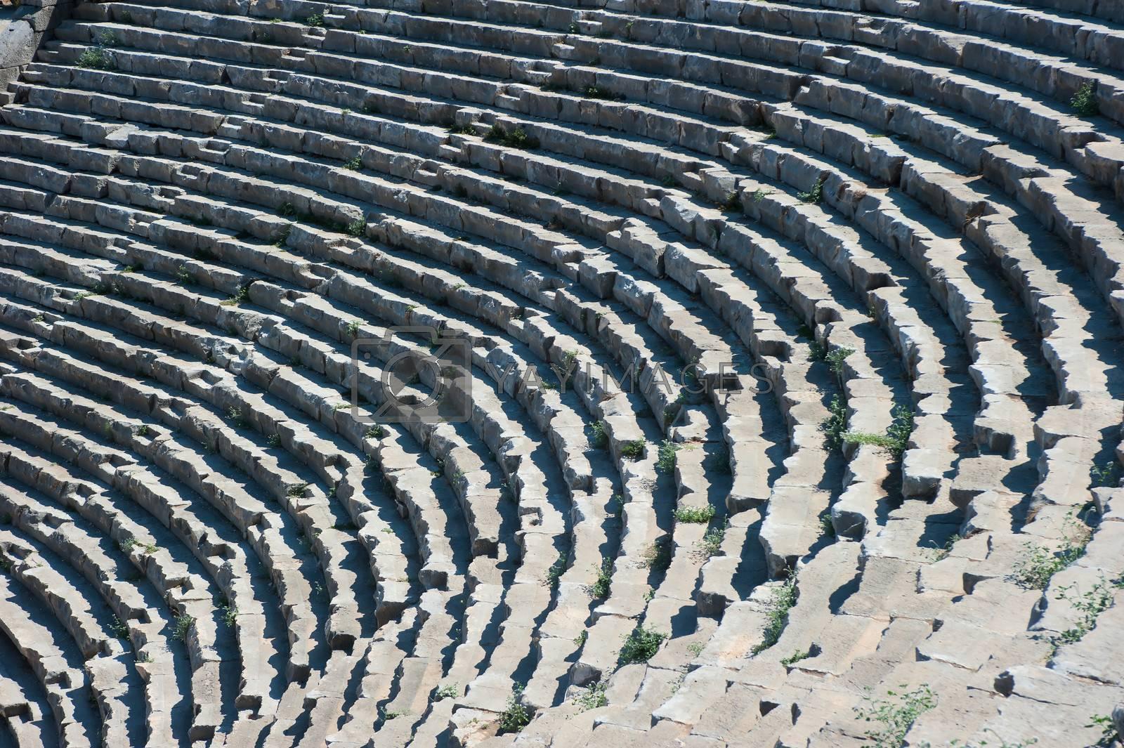 Ancient Greek or Roman Amphitheatre