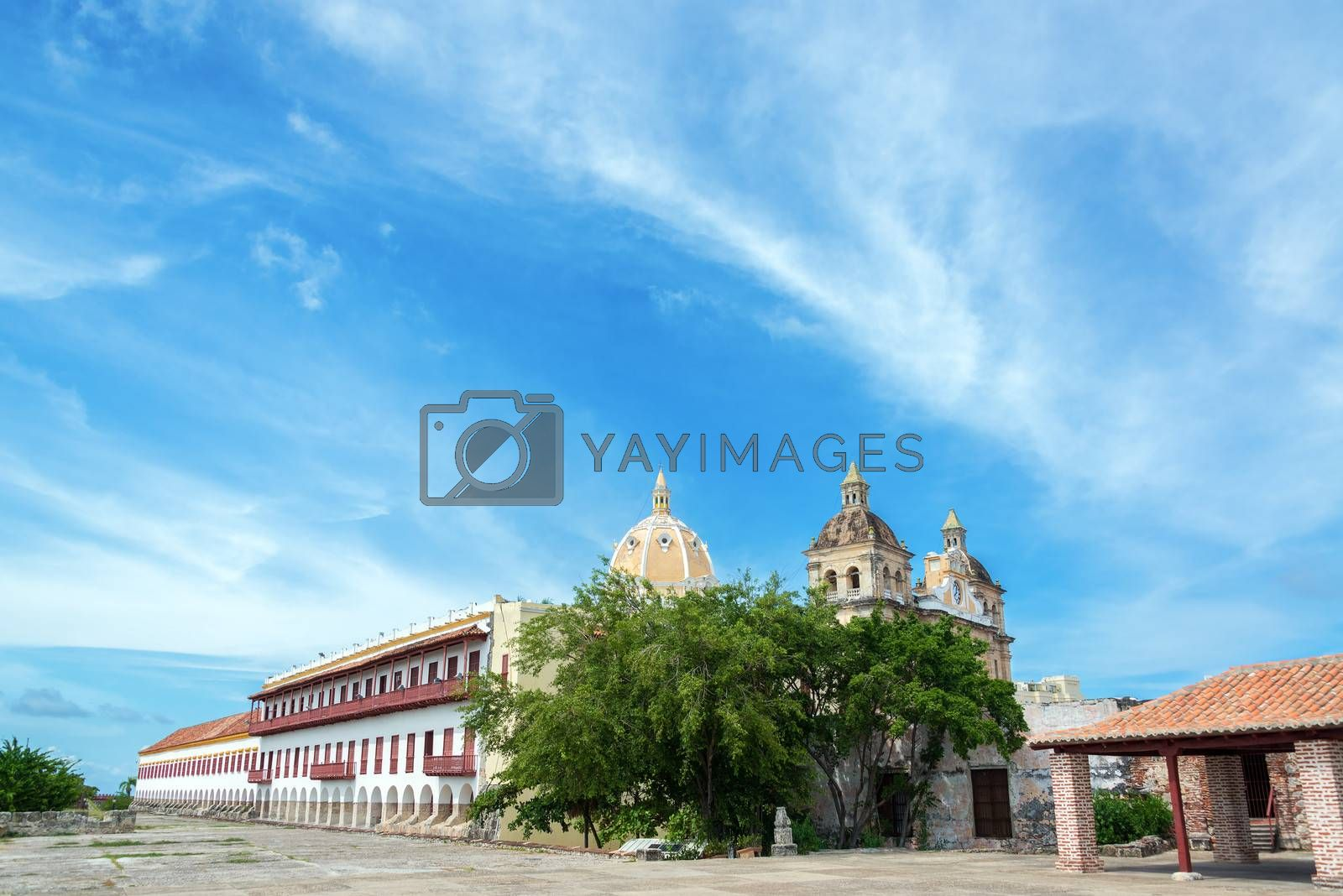 Royalty free image of Cartagena View by jkraft5