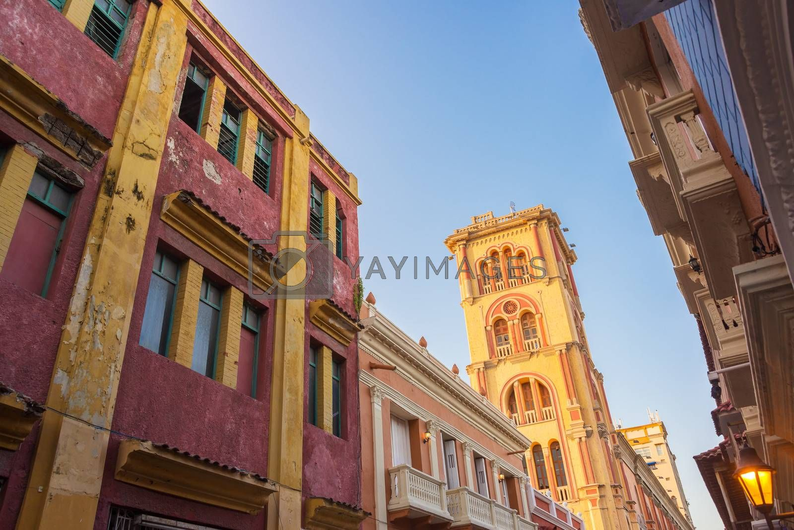 Royalty free image of Cartagena Tower View by jkraft5