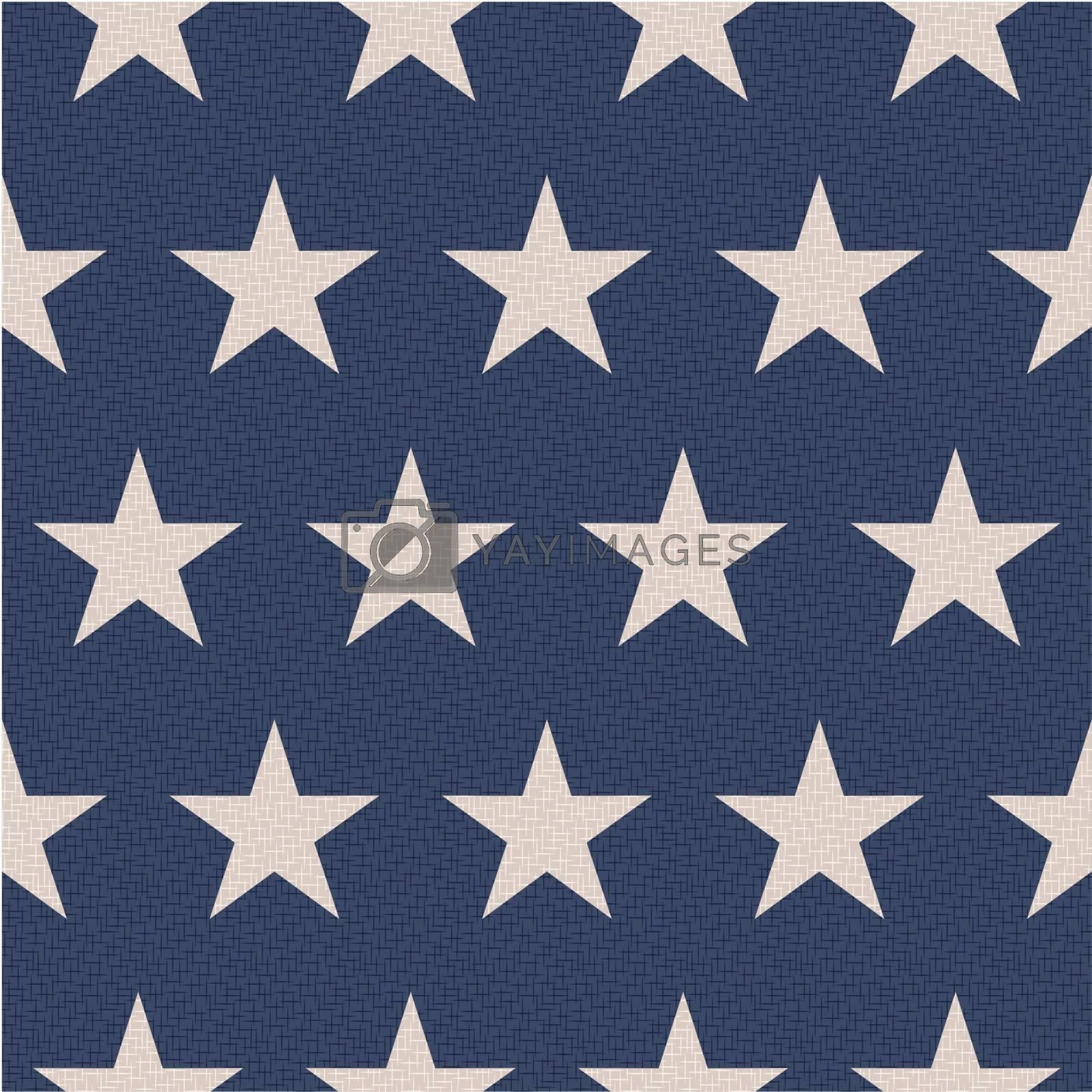 seamless patriotic stars background