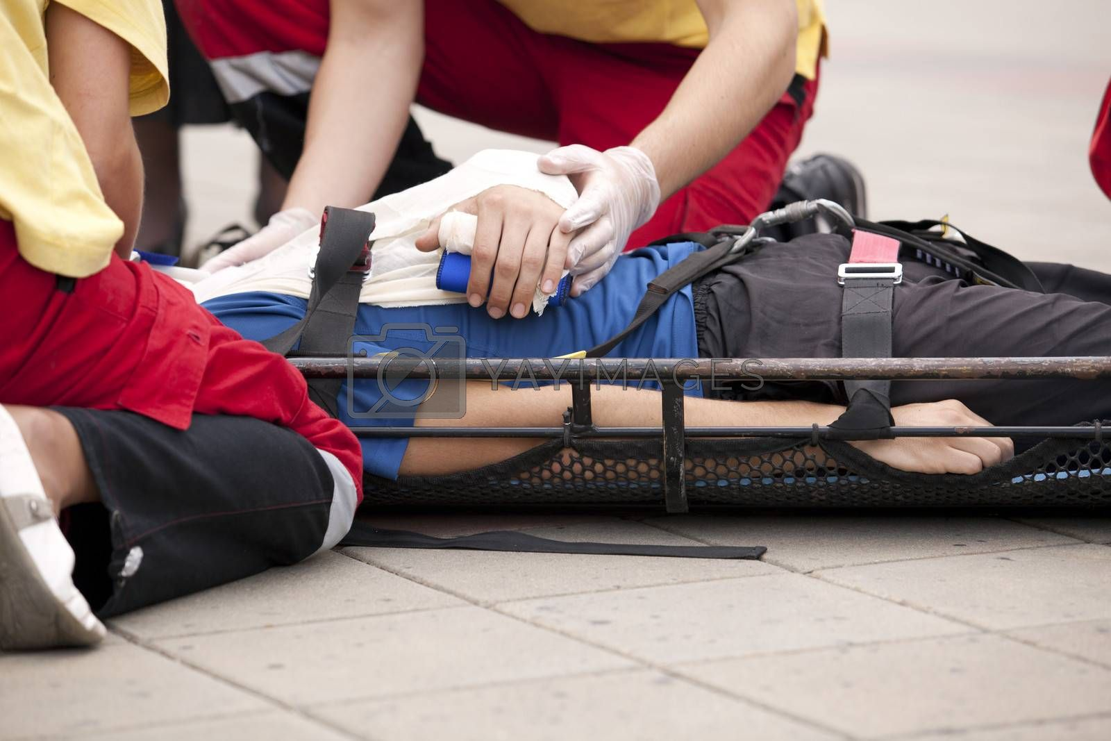 Royalty free image of First aid by wellphoto