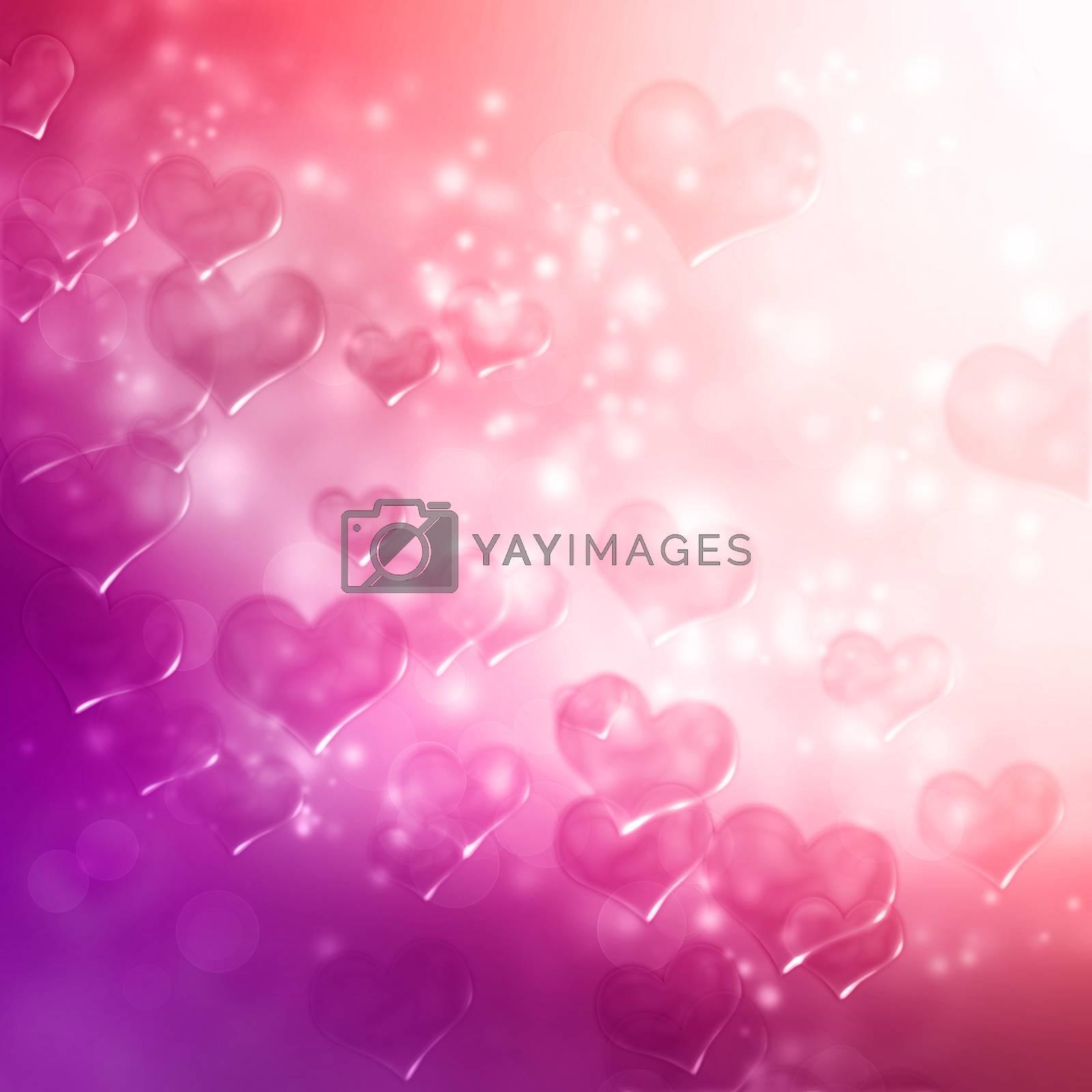 Royalty free image of Hearts by melpomene