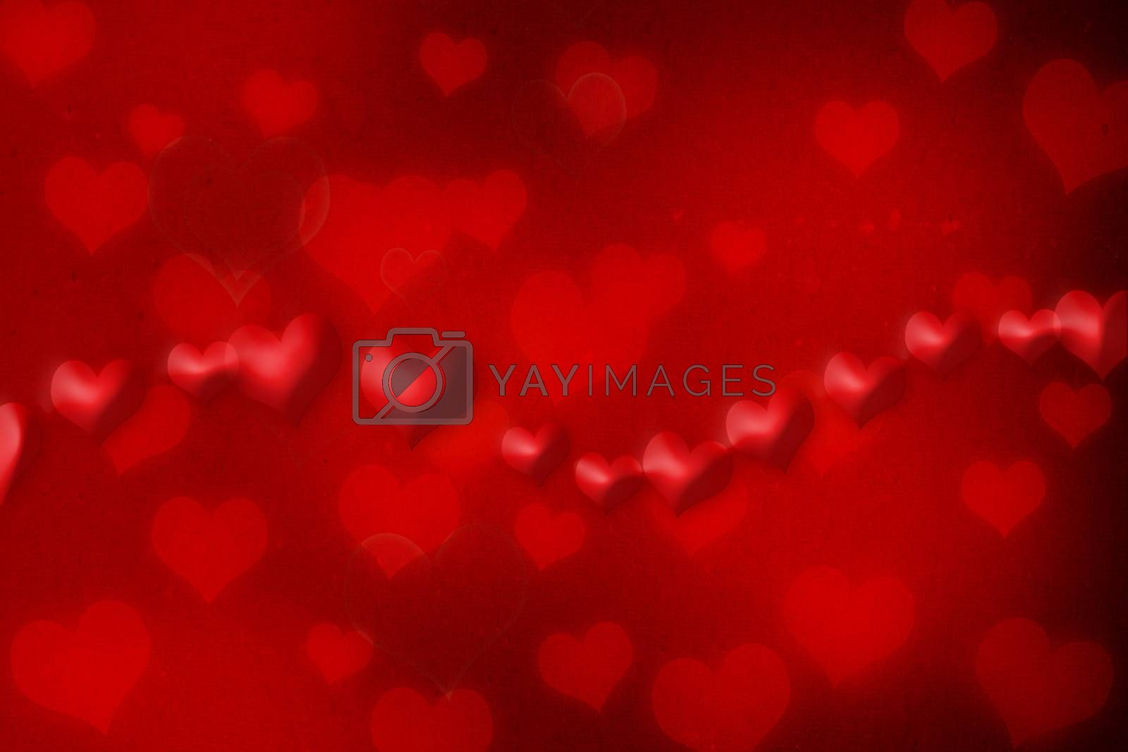 Royalty free image of Red hearts by melpomene