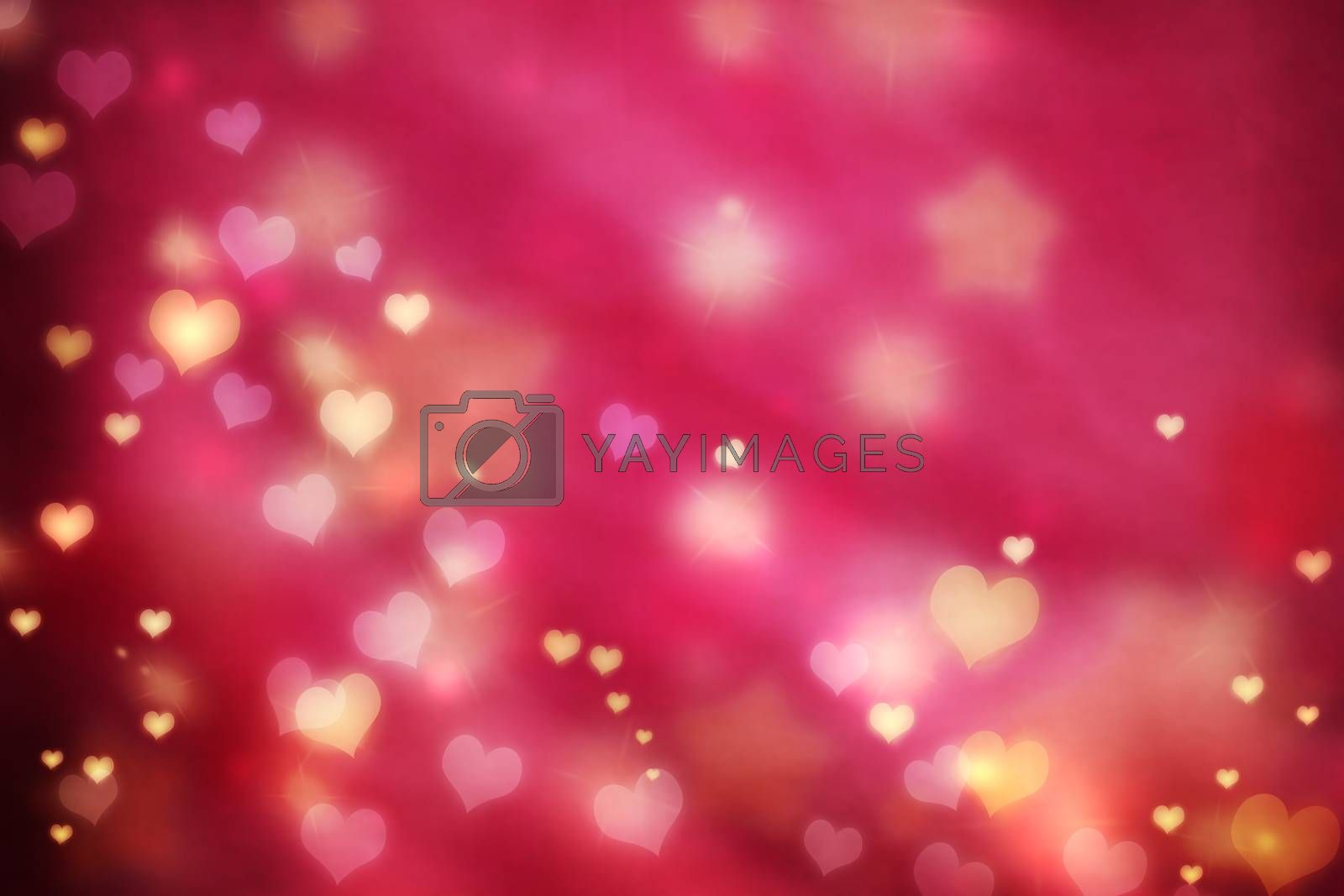 Royalty free image of Small hearts background by melpomene
