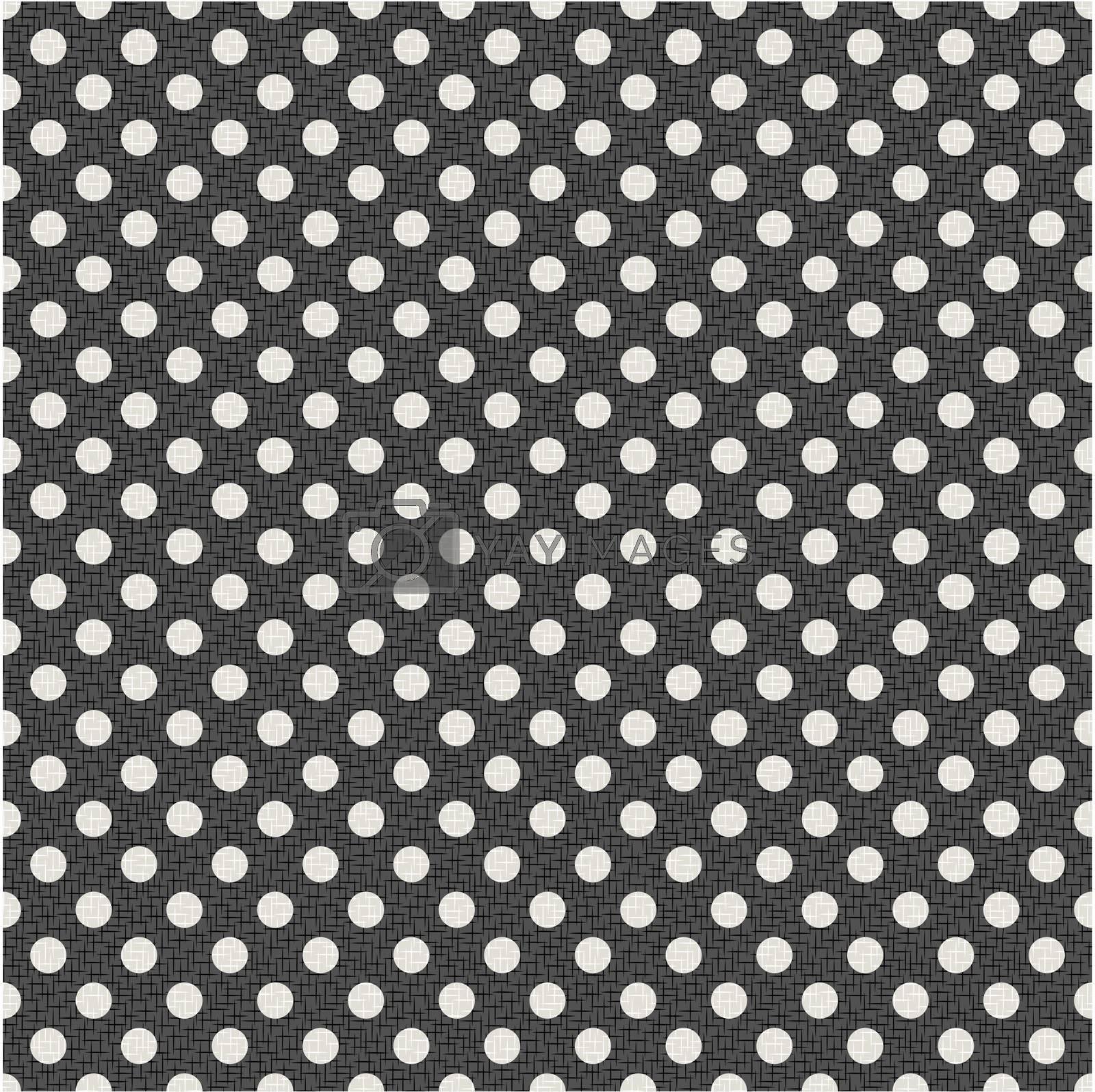 seamless polka dots texture background