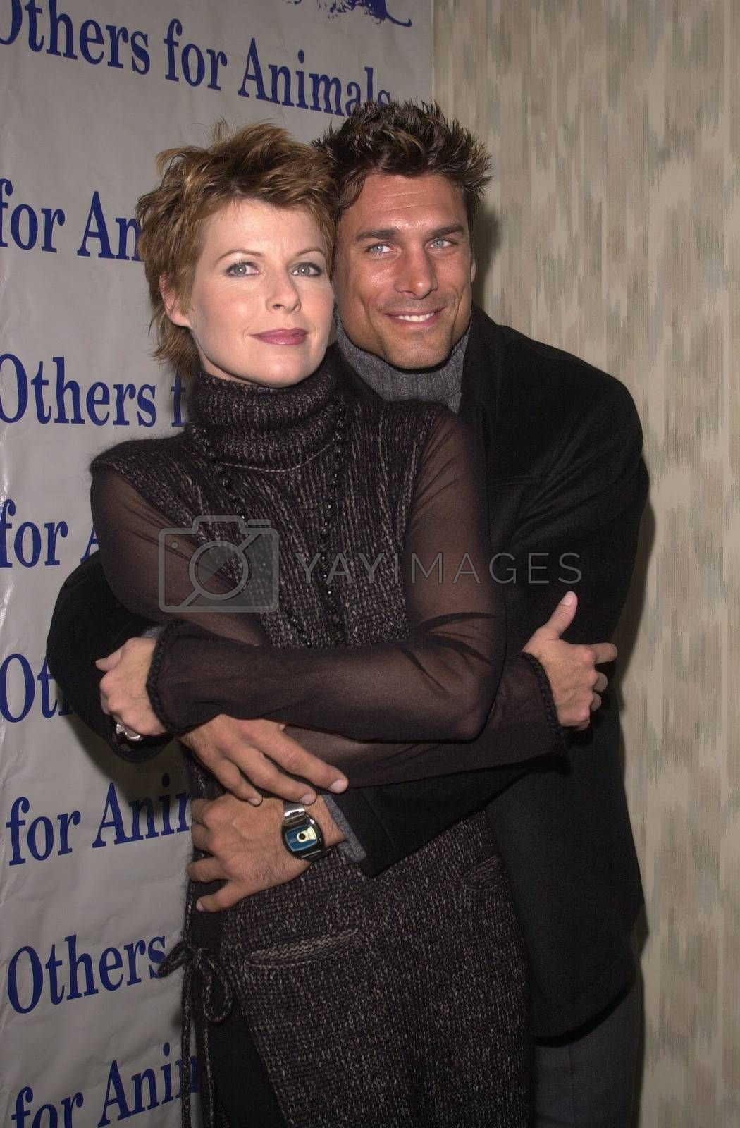 Dana Sparks and James Hyde at the Actors and Others for Animals benefit, Universal City, 10-21-00