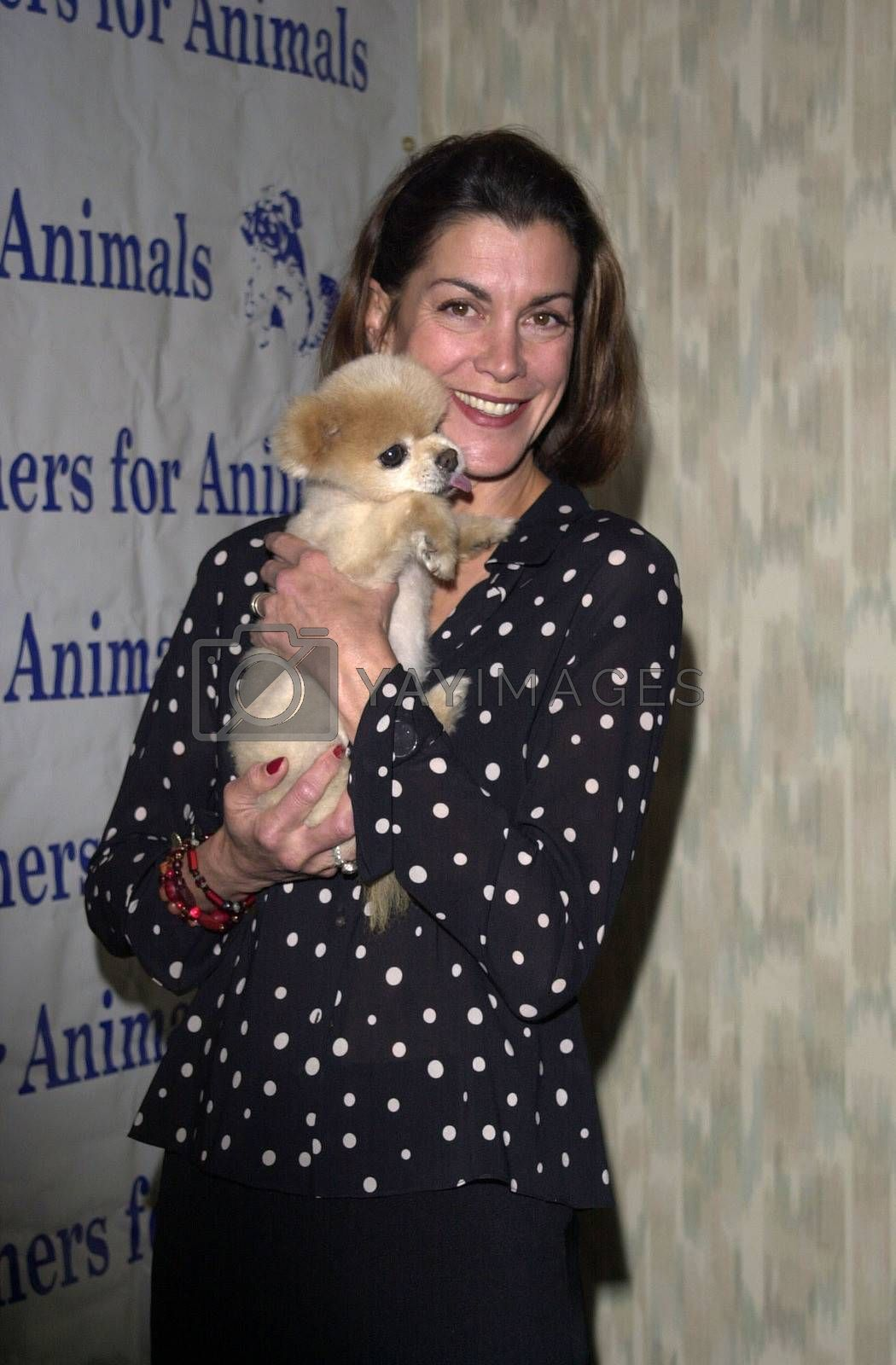 Wendy Malick at the Actors and Others for Animals benefit, Universal City, 10-21-00