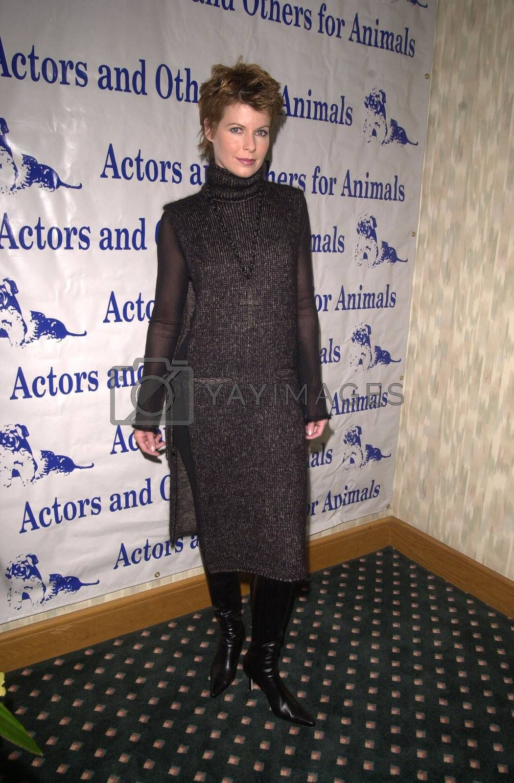 Dana Sparks at the Actors and Others for Animals benefit, Universal City, 10-21-00