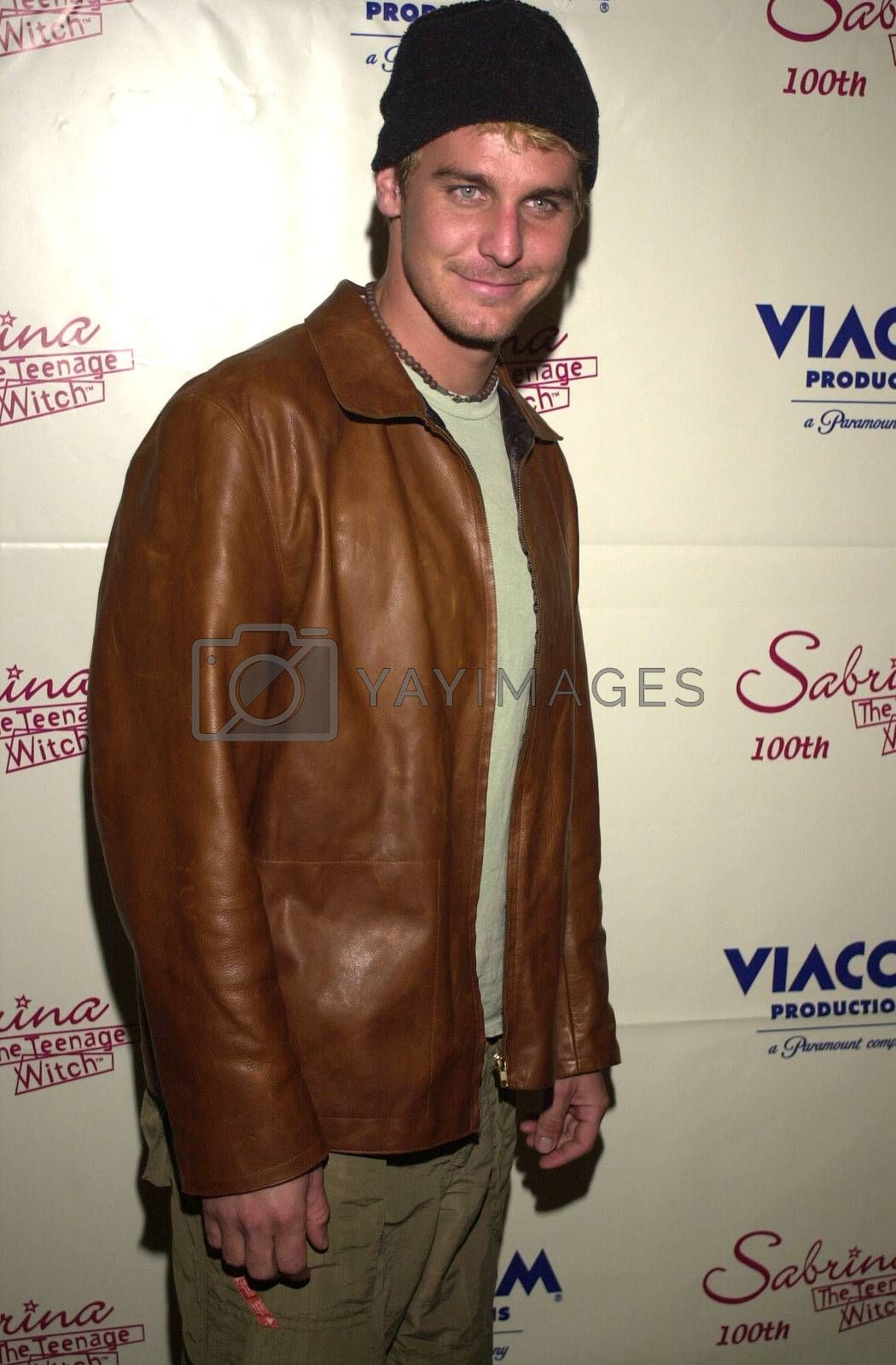 """Ingo Rademacher at the party to celebrate the 100th episode of """"Sabrina the Teenage Witch"""" in Hollywood, 10-23-00"""