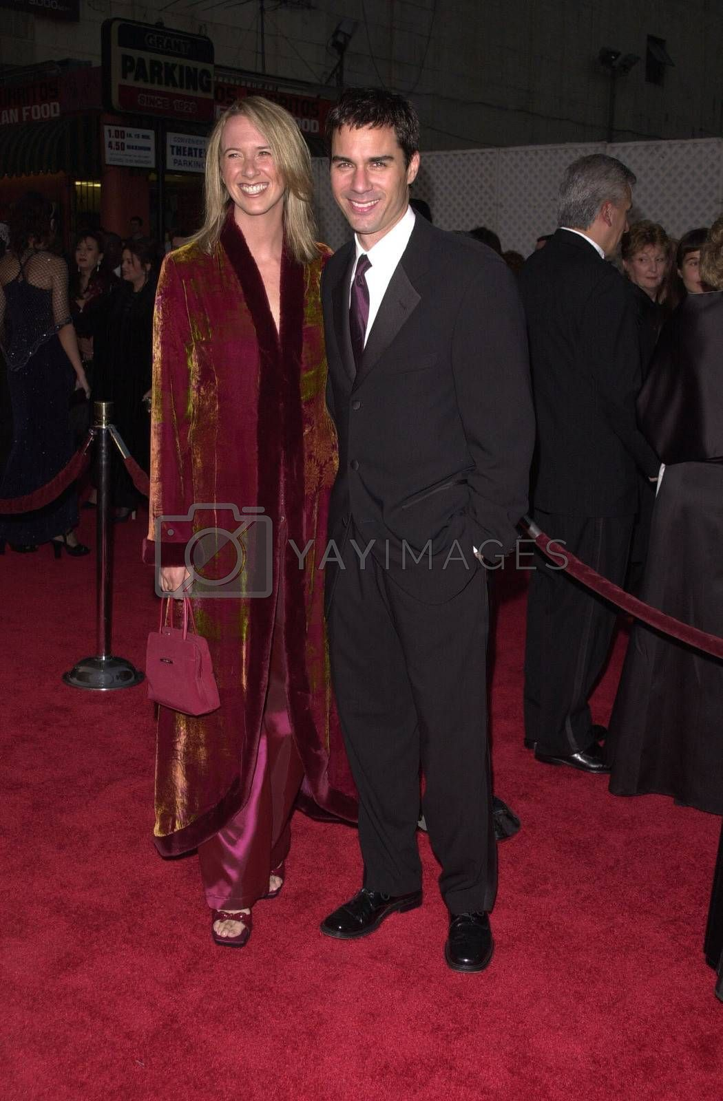 """Janet Holden and Eric McCormick at a special presentation of Disney's """"The Lion King"""" benfitting the Karabo Foundation, Pantages Theater, 10-18-00"""