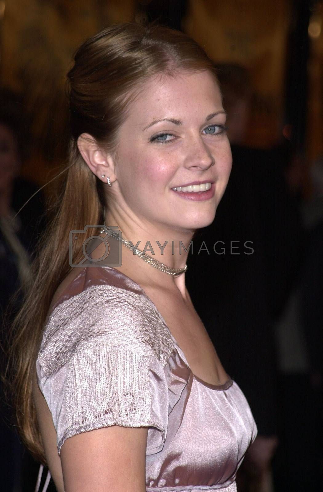 """Melissa Joan Hart at a special presentation of Disney's """"The Lion King"""" benfitting the Karabo Foundation, Pantages Theater, 10-18-00"""