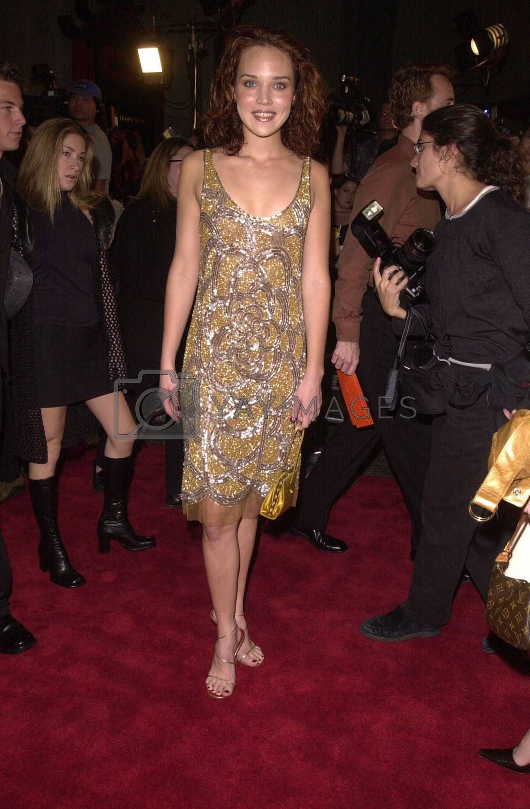 """Erica Leerhsen at the premiere of Artisan Entertainment's """"BLAIR WITCH 2: Book Of Shadows"""" at the Chinese Theater, Hollywood, 10-23-00"""