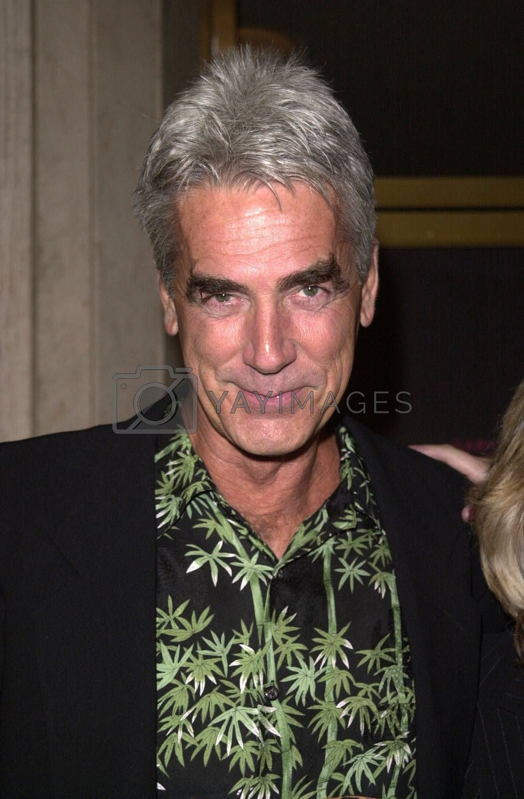 """Sam Elliot at the premiere of Dreamworks """"The Contender"""" in Westwood, 10-05-00"""