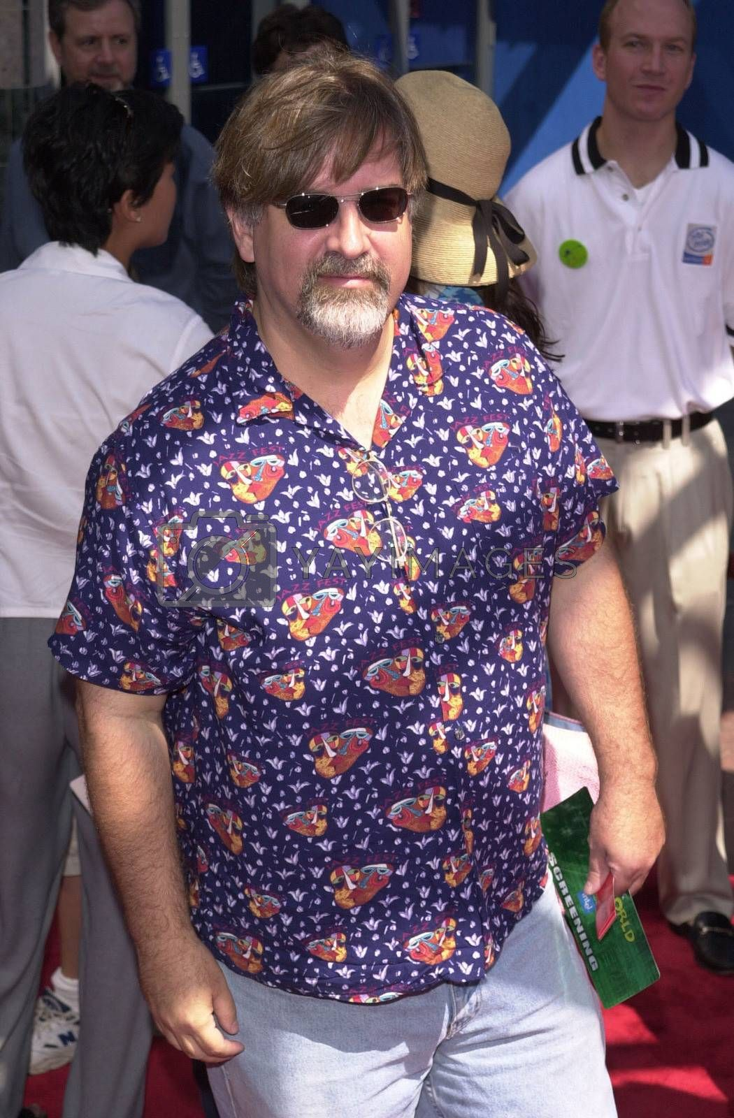 """Matt Groening at the premiere of the Imax special effects spectacular """"Cyberworld 3D"""" at Universal Studios Hollywood, 10-01-00"""