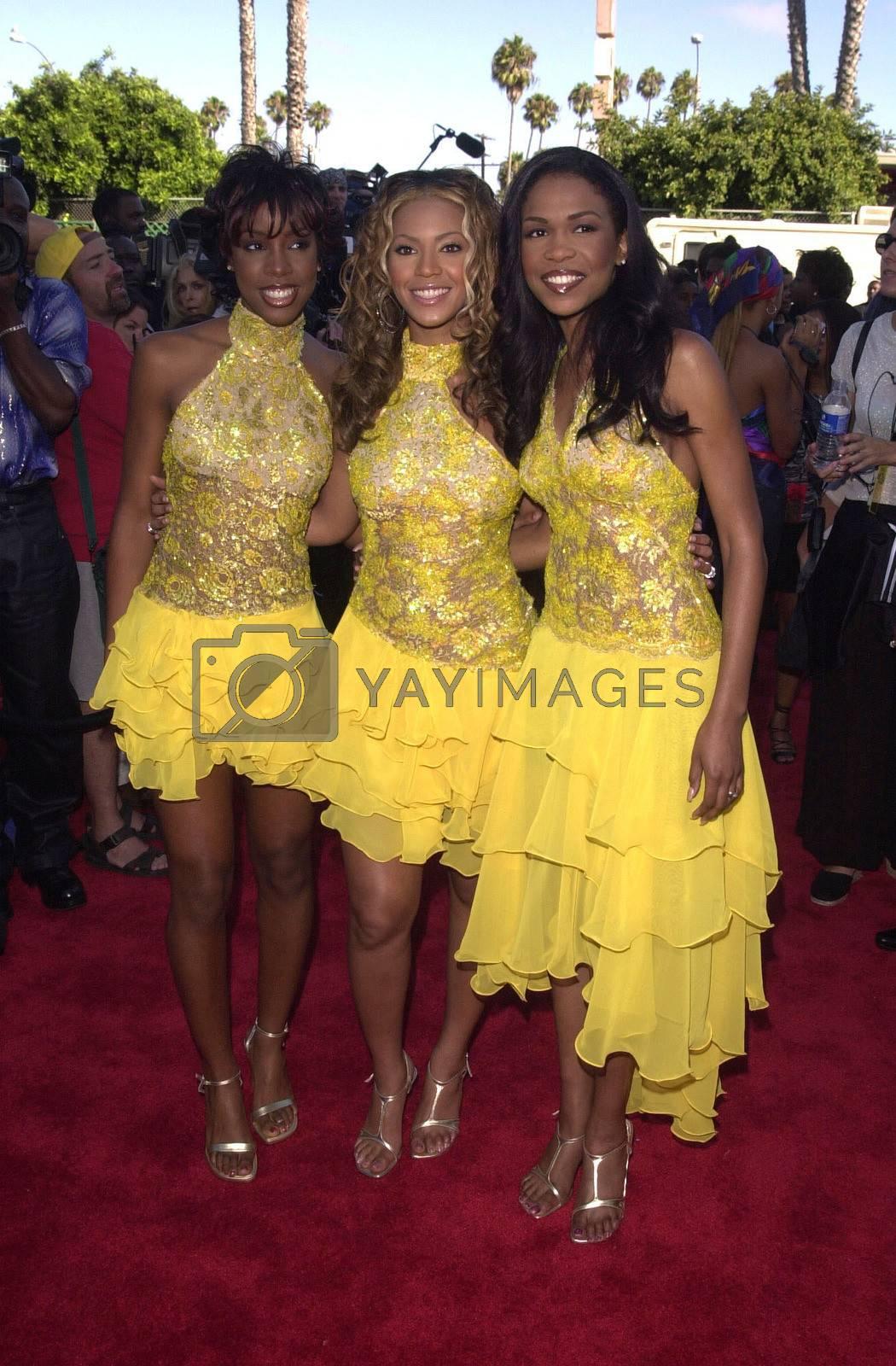 Destiny's Child at the 2000 Soul Train Lady Of Soul Awards, Santa Monica, 09-03-00