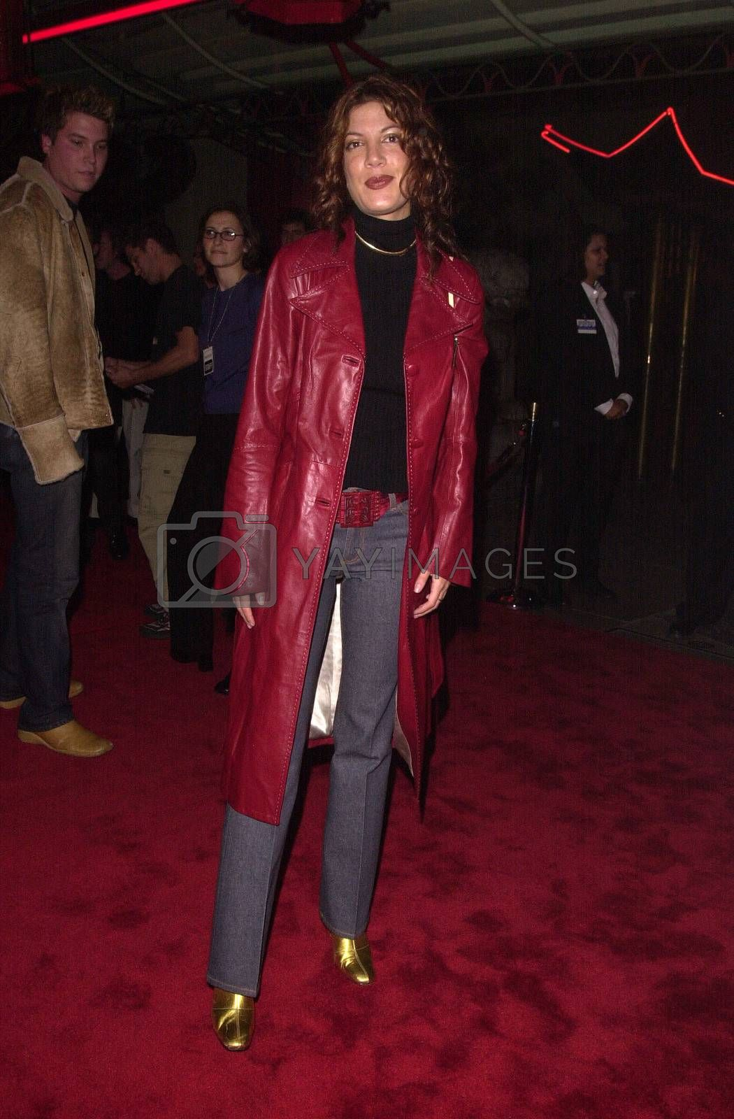 """Tori Spelling at the premiere of Artisan Entertainment's """"BLAIR WITCH 2: Book Of Shadows"""" at the Chinese Theater, Hollywood, 10-23-00"""