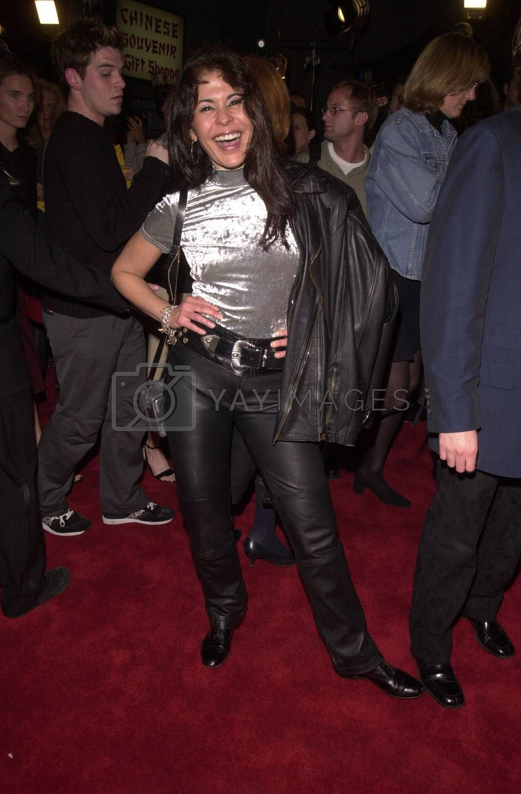 """Maria Conchita Alonso at the premiere of Artisan Entertainment's """"BLAIR WITCH 2: Book Of Shadows"""" at the Chinese Theater, Hollywood, 10-23-00"""