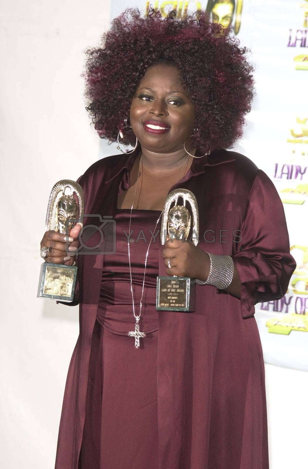 Angie Stone at the 2000 Soul Train Lady Of Soul Awards, Santa Monica, 09-03-00