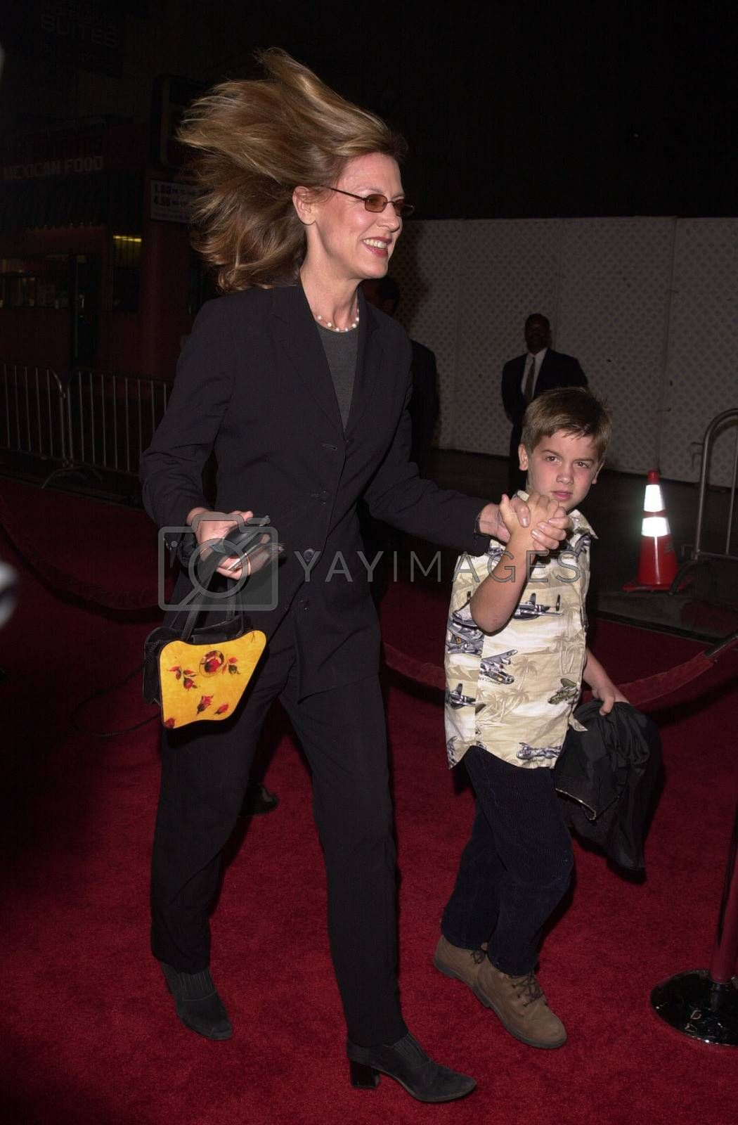 """Christine Lahti at a special presentation of Disney's """"The Lion King"""" benfitting the Karabo Foundation, Pantages Theater, 10-18-00"""