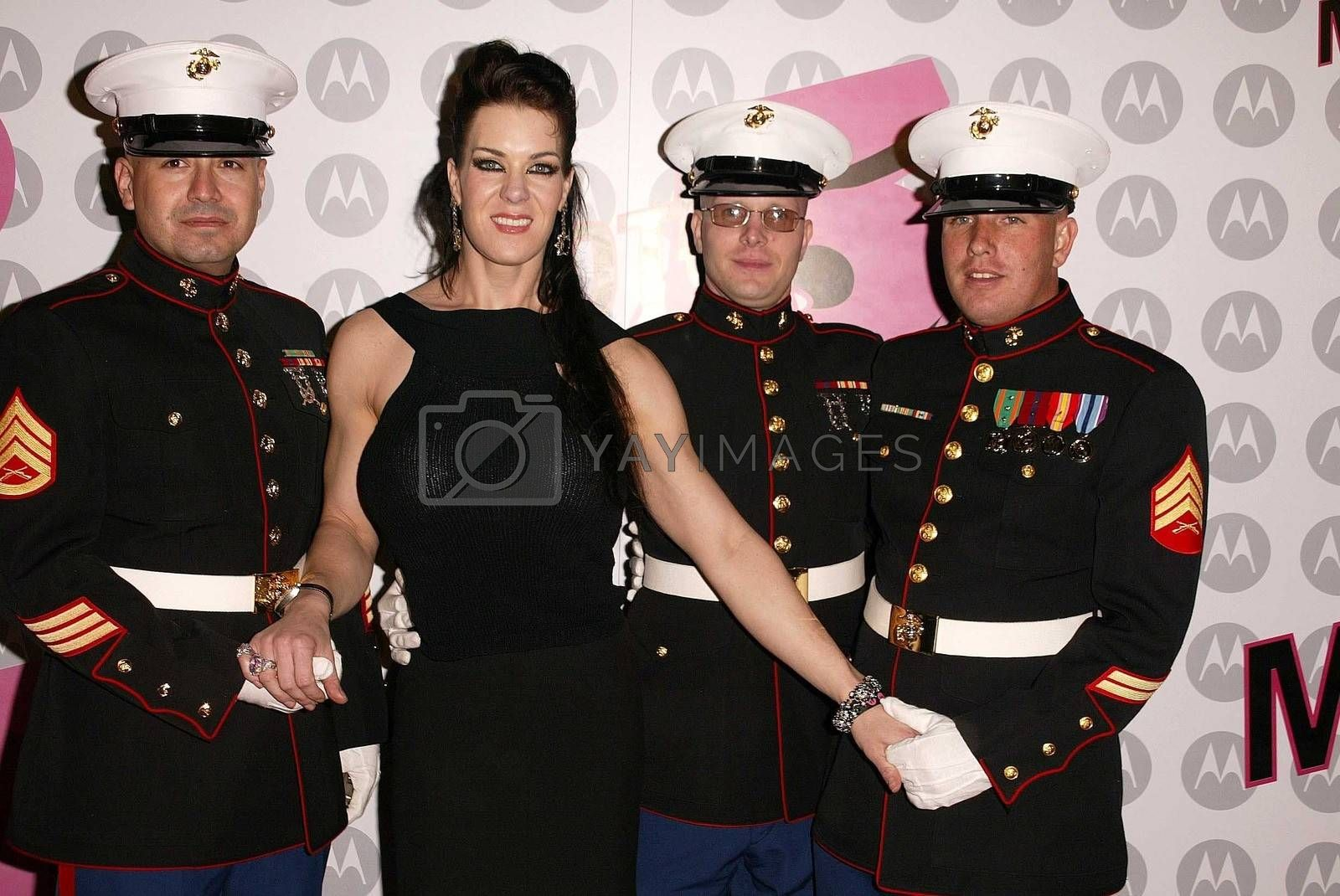 Royalty free image of Motorola's 5th Anniversary Party for Toys for Tots by ImageCollect