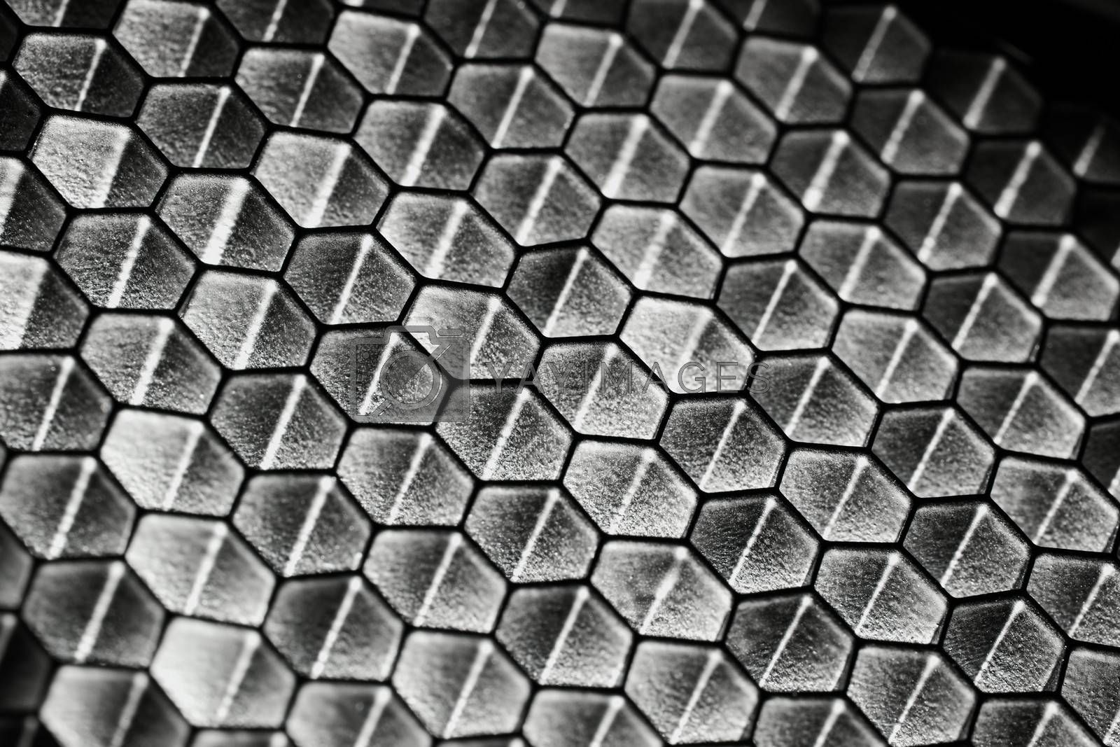 Royalty free image of Honeycomb pattern by Gudella