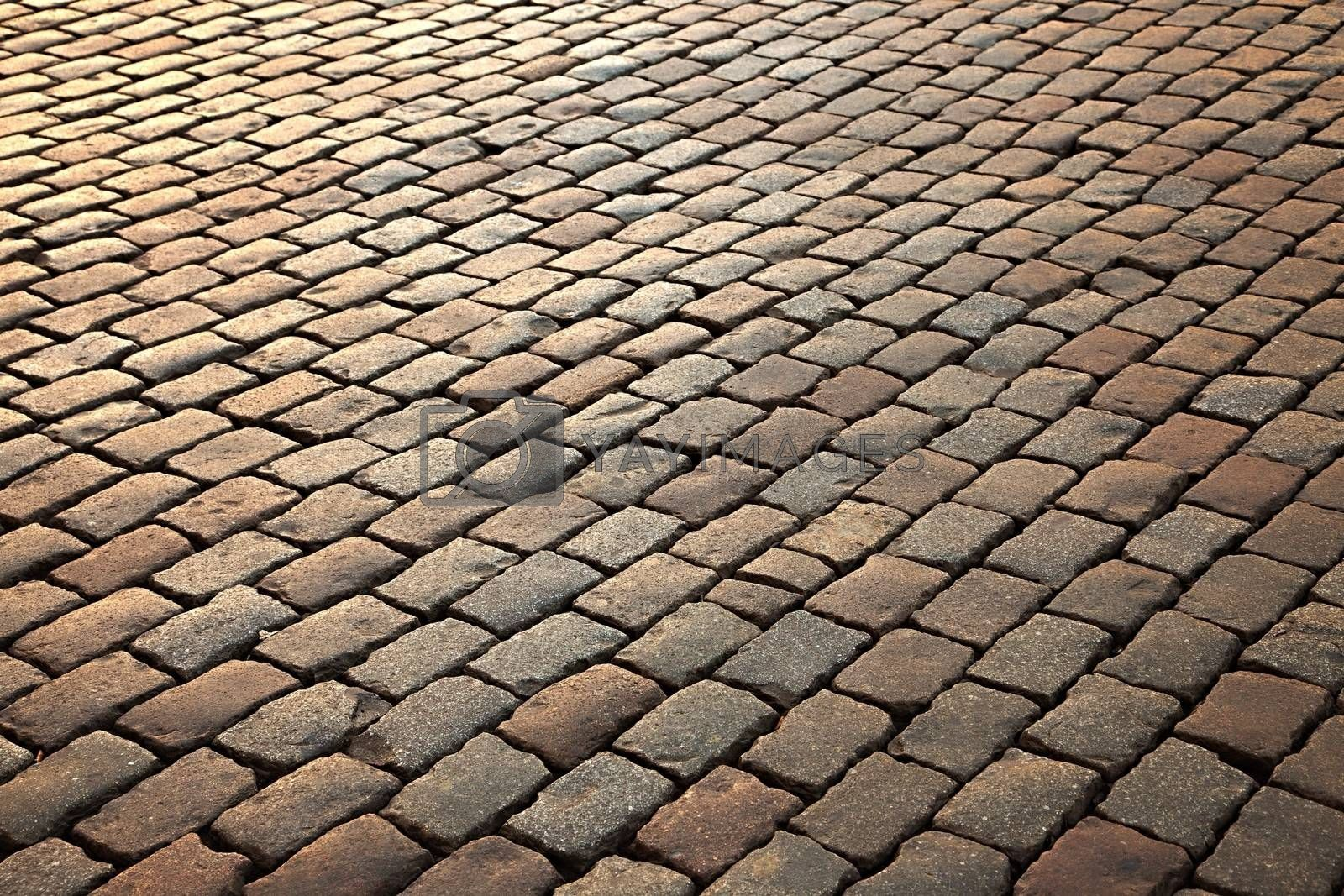Royalty free image of Pavement by Gudella