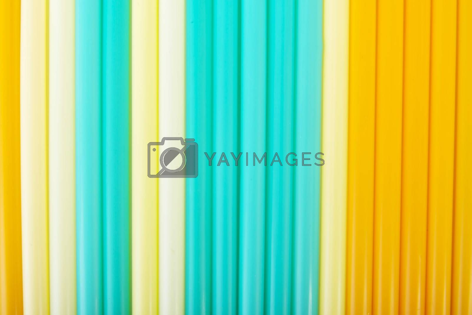 Royalty free image of Composition of colorful straws. by BDS