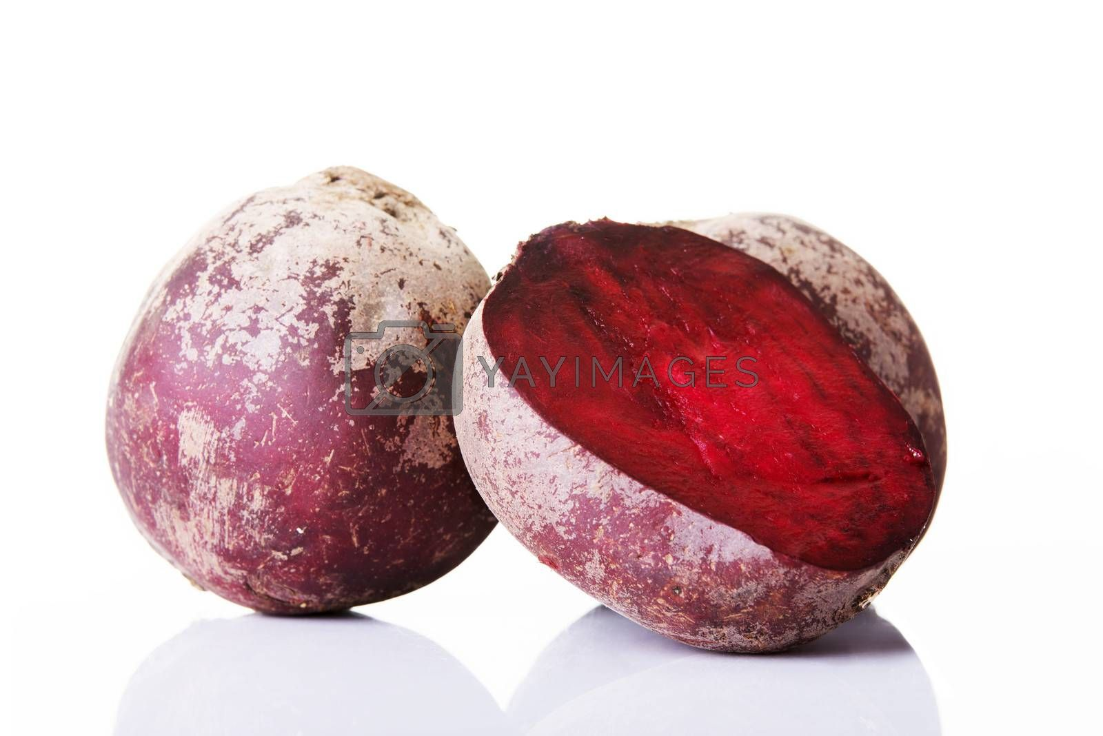 Royalty free image of Beetroots fresh, red and raw. by BDS