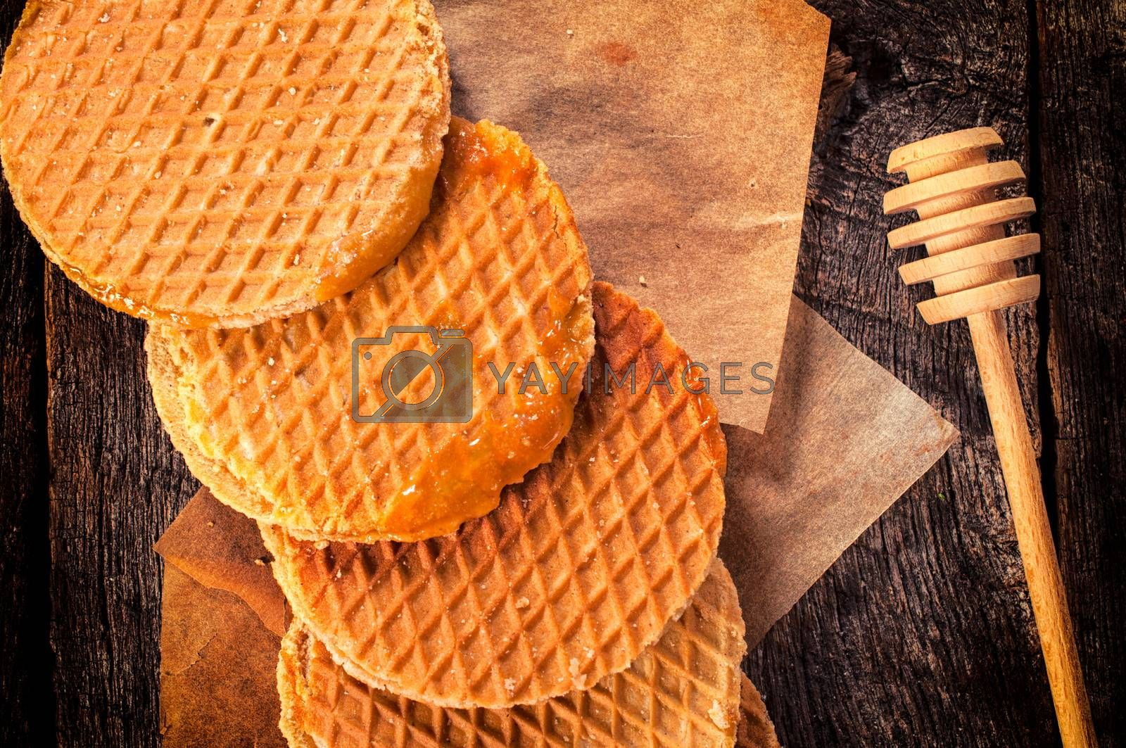 Old fashion cookies by badmanproduction