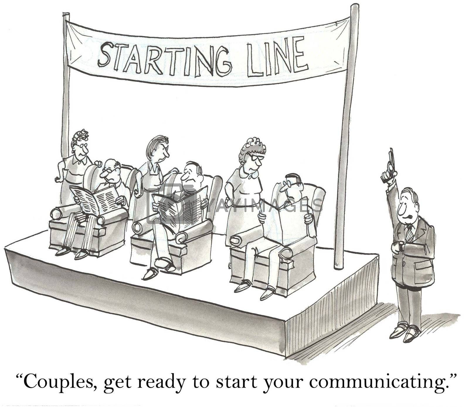 """Couples, get ready to start communicating."""