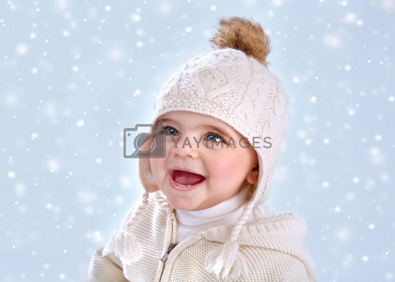 Wintertime baby fashion by Anna_Omelchenko