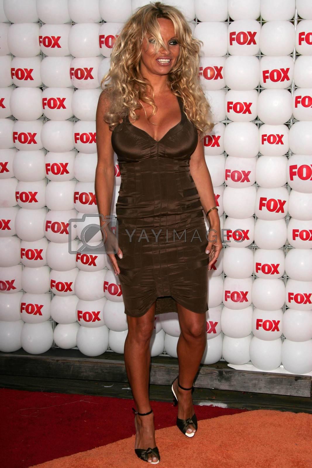 Pamela Anderson At the FOX Summer 2005 TCA Party, Santa Monica Pier, Santa Monica, CA 07-29-05