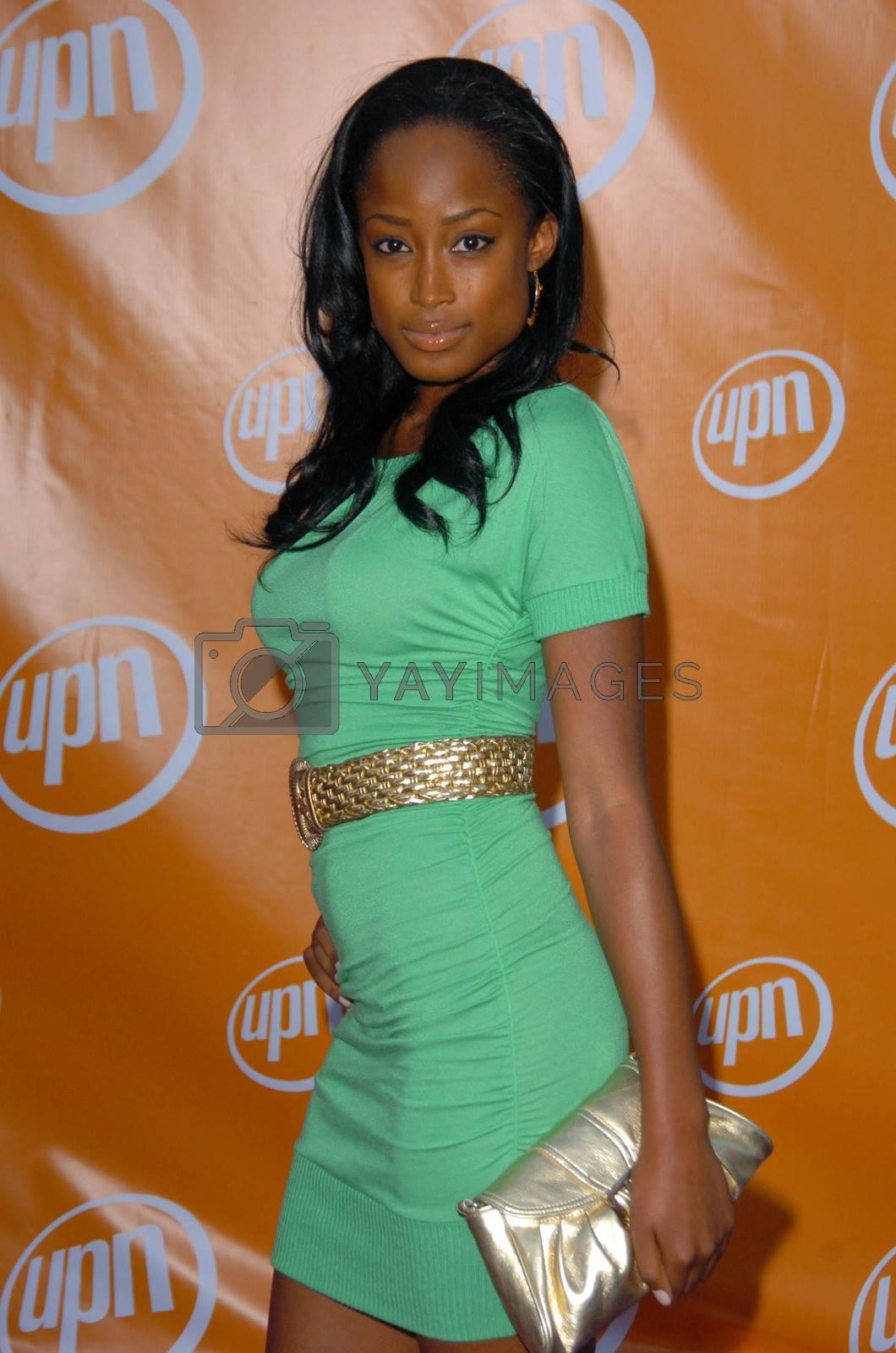 Keenyah Hill At the UPN Summer TCA Party, Paramount Studios, Hollywood, CA 07-21-05
