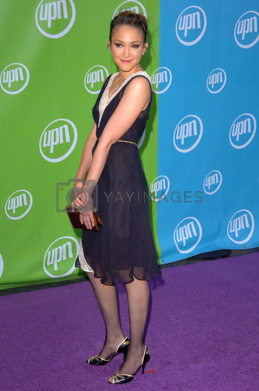 Naima Mora At the UPN Summer TCA Party, Paramount Studios, Hollywood, CA 07-21-05