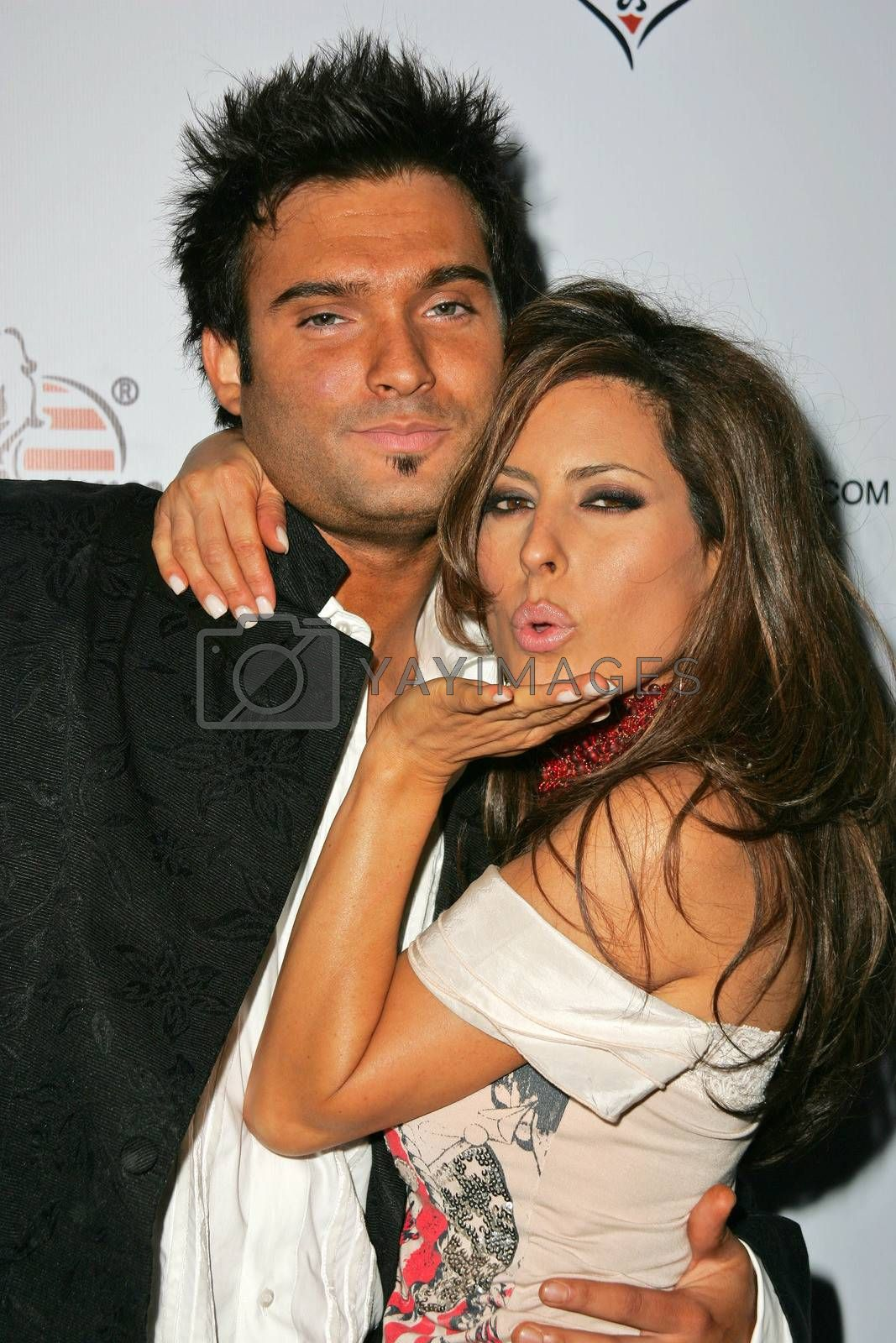 Diego Varas and Kerri Kasem at Bench Warmer's 2nd Annual 4th of July Celebration, The Day After, Hollywood, CA 06-29-05