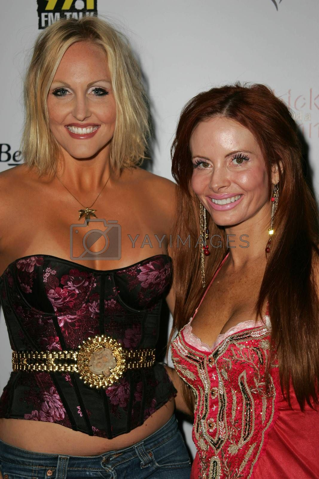 Meghan Fabulous and Phoebe Price at Bench Warmer's 2nd Annual 4th of July Celebration, The Day After, Hollywood, CA 06-29-05