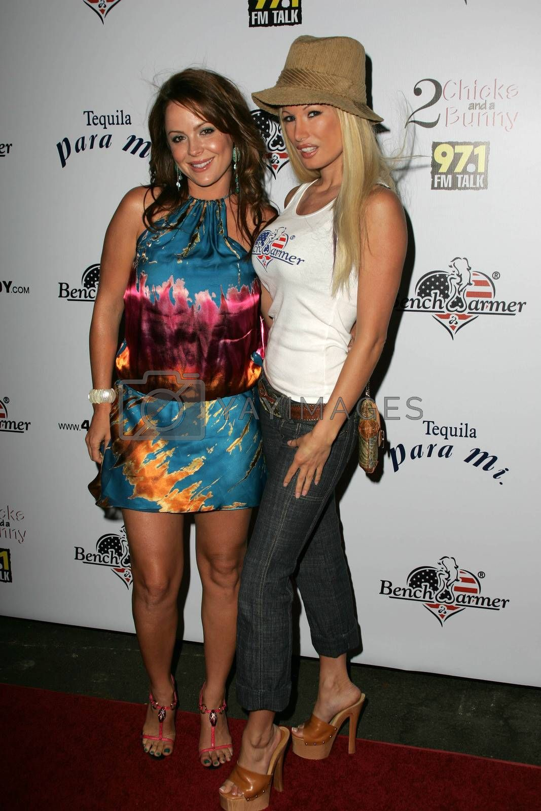 Mishel Thorpe and Lana Kinnear at Bench Warmer's 2nd Annual 4th of July Celebration, The Day After, Hollywood, CA 06-29-05