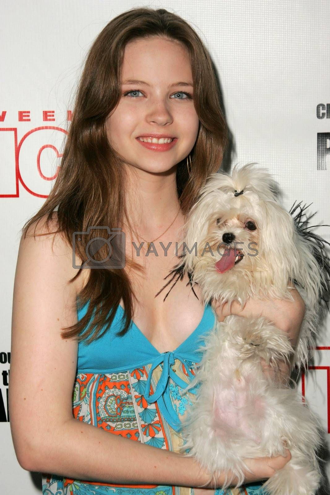 Daveigh Chase at the In Touch Presents Pets And Their Stars Party, Cabana Club, Hollywood, CA 09-21-05