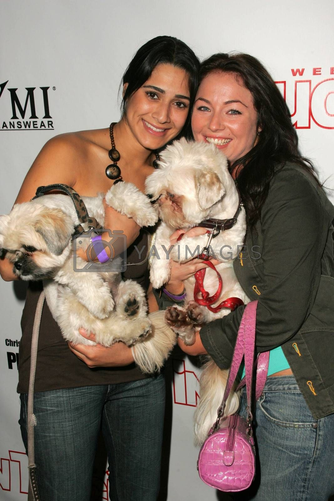 Sasa Jalali and Lindsey Labrum at the In Touch Presents Pets And Their Stars Party, Cabana Club, Hollywood, CA 09-21-05