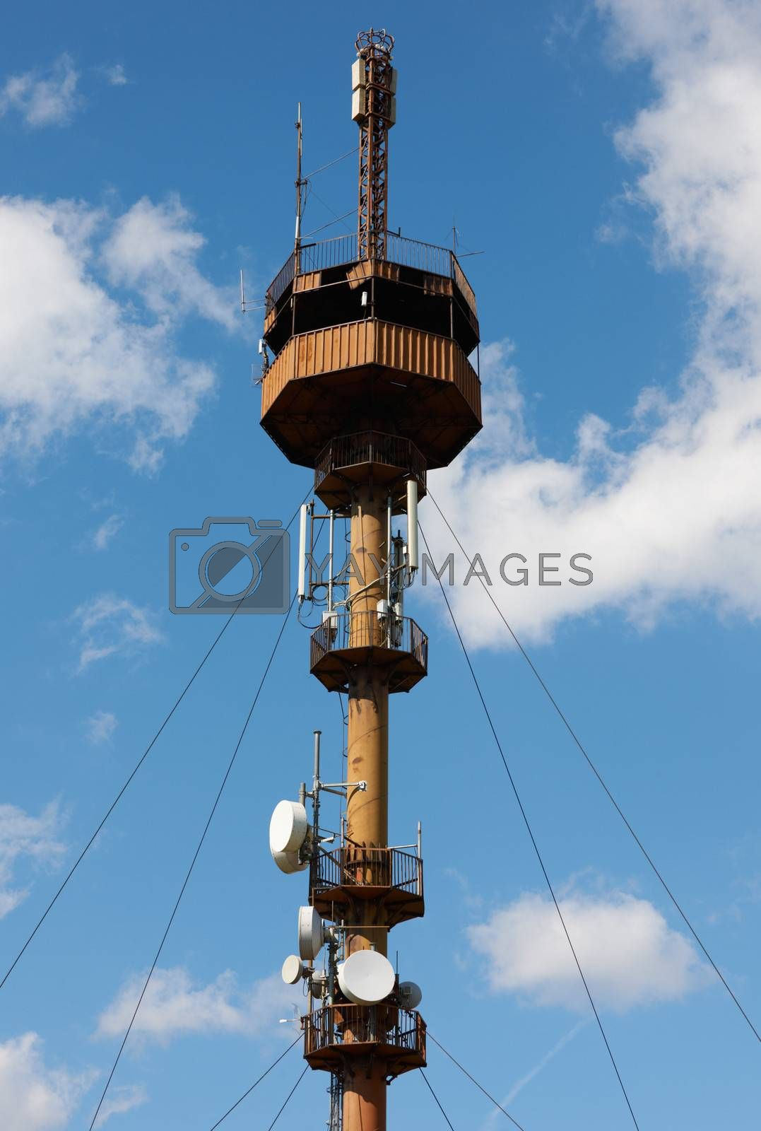 Communication tower by ecobo